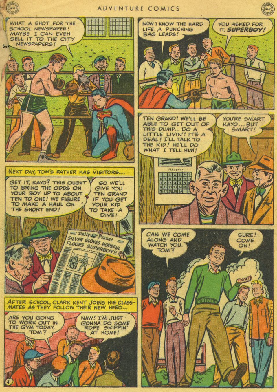 Read online Adventure Comics (1938) comic -  Issue #134 - 6