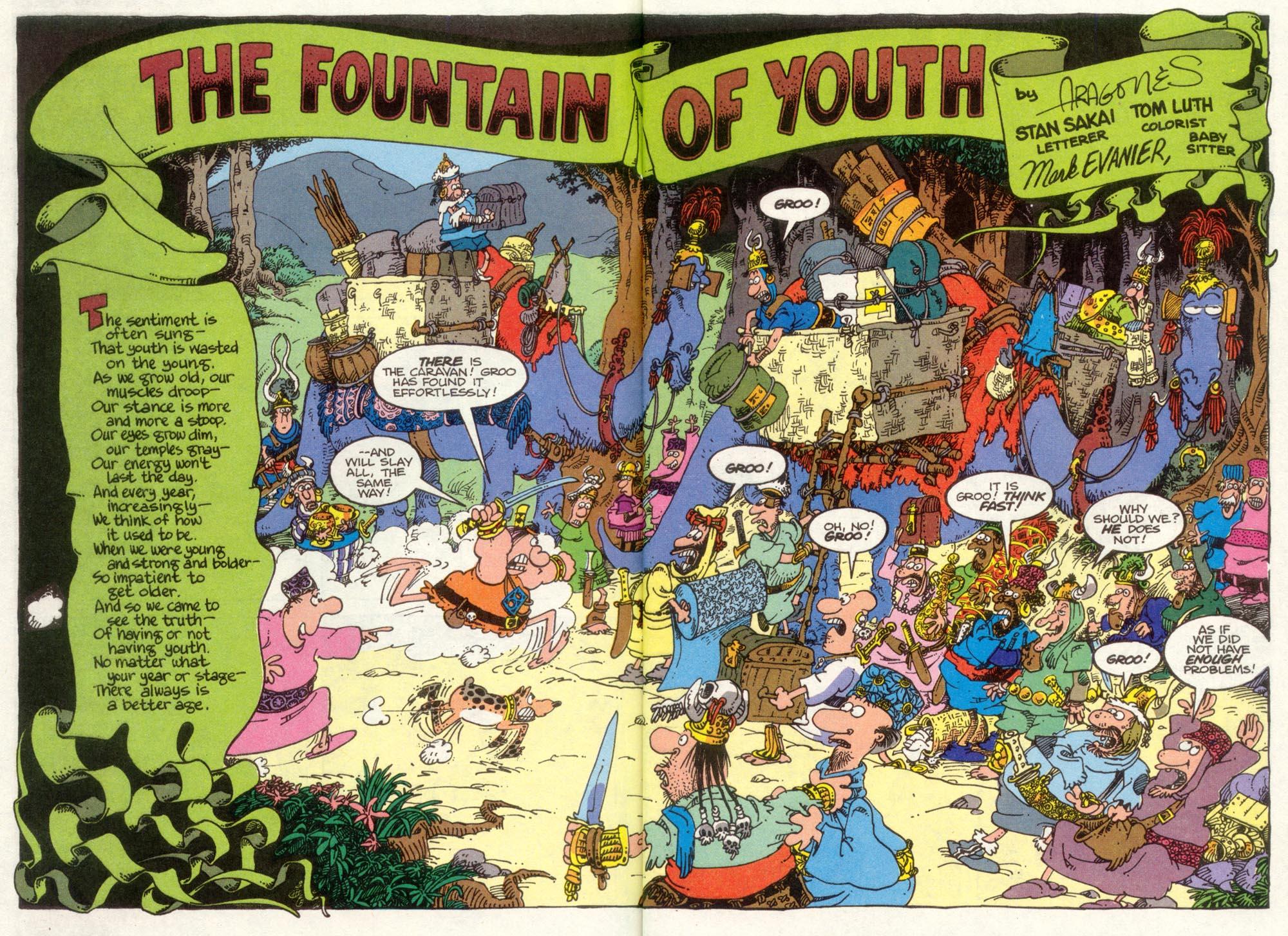 Read online Sergio Aragonés Groo the Wanderer comic -  Issue #92 - 4