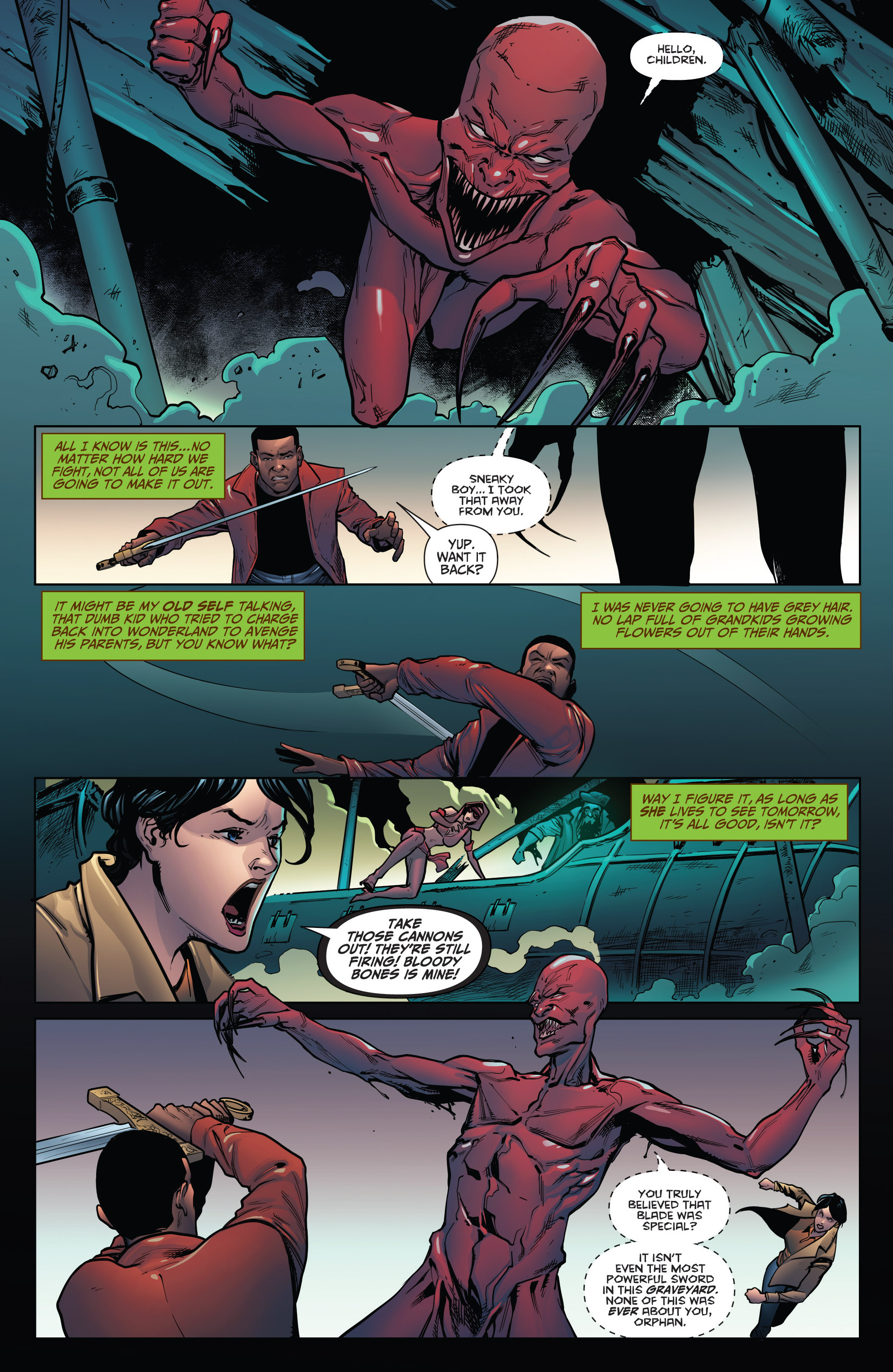 Read online Grimm Fairy Tales: Arcane Acre comic -  Issue # TPB 4 - 154