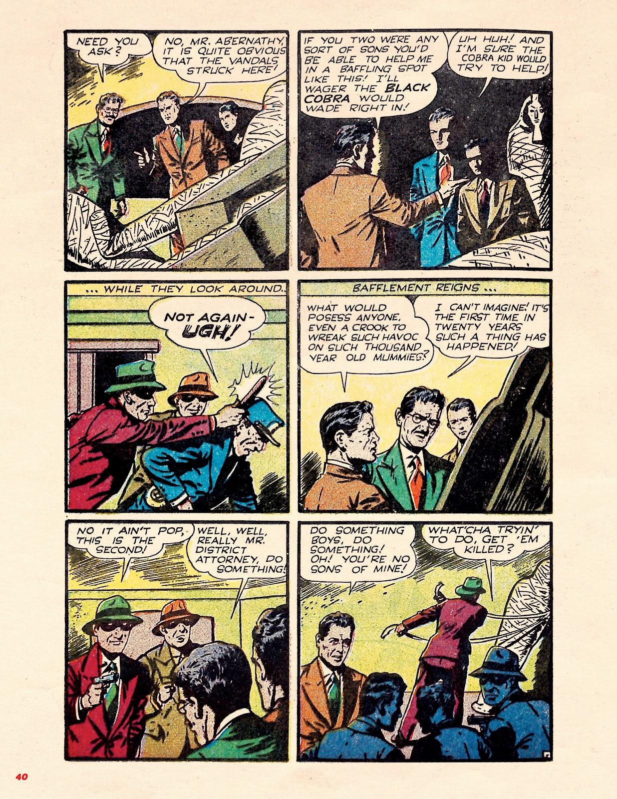 Read online Super Weird Heroes comic -  Issue # TPB 1 (Part 1) - 39