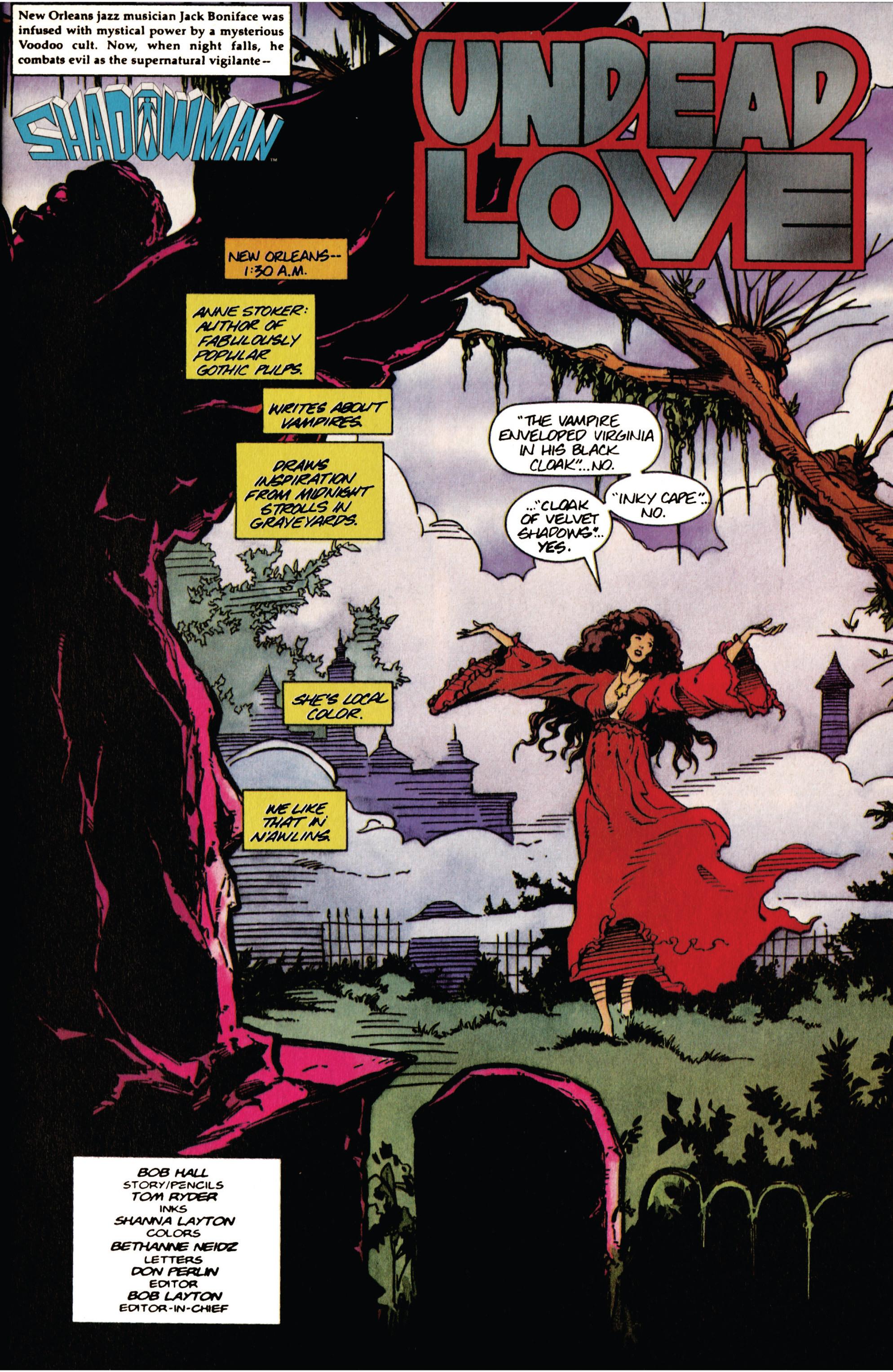 Read online Shadowman (1992) comic -  Issue #40 - 2