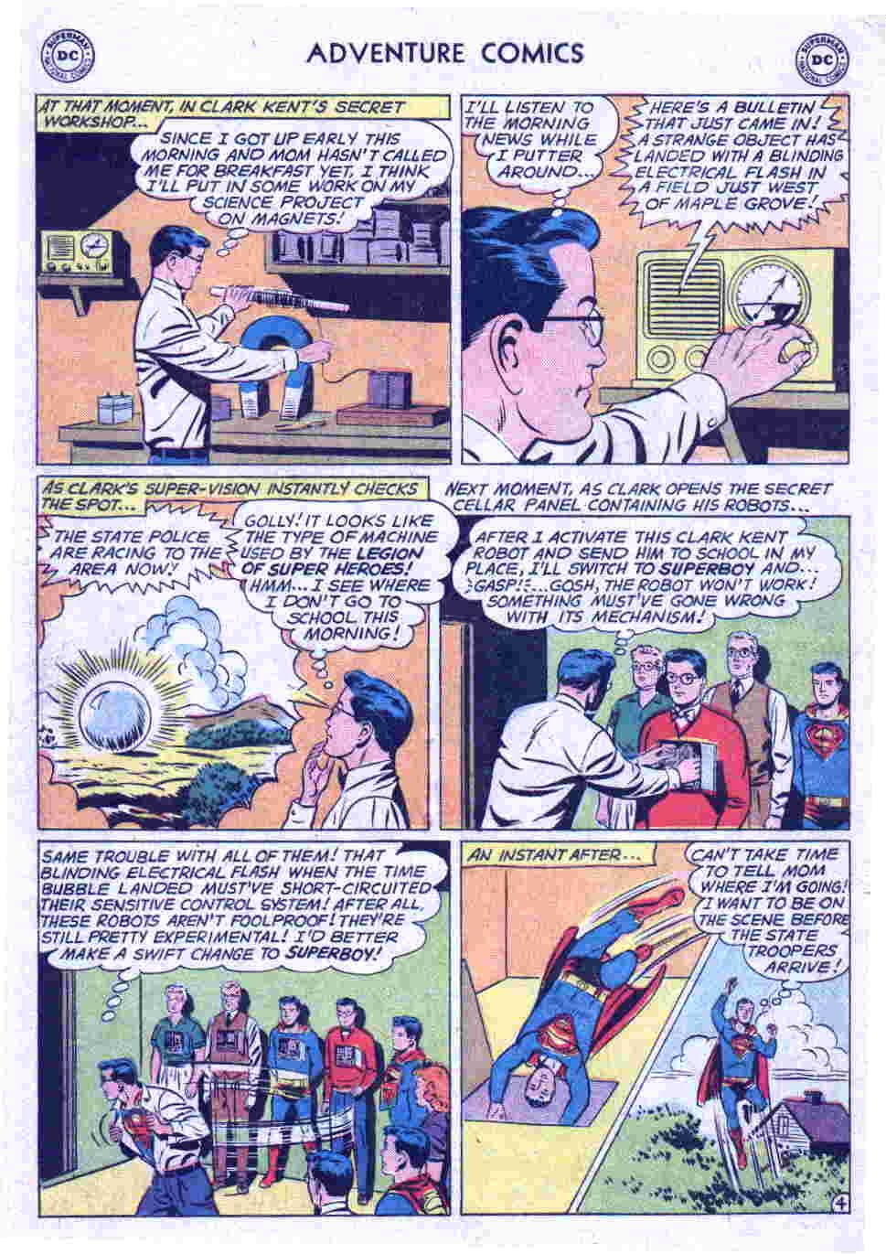 Read online Adventure Comics (1938) comic -  Issue #290 - 21