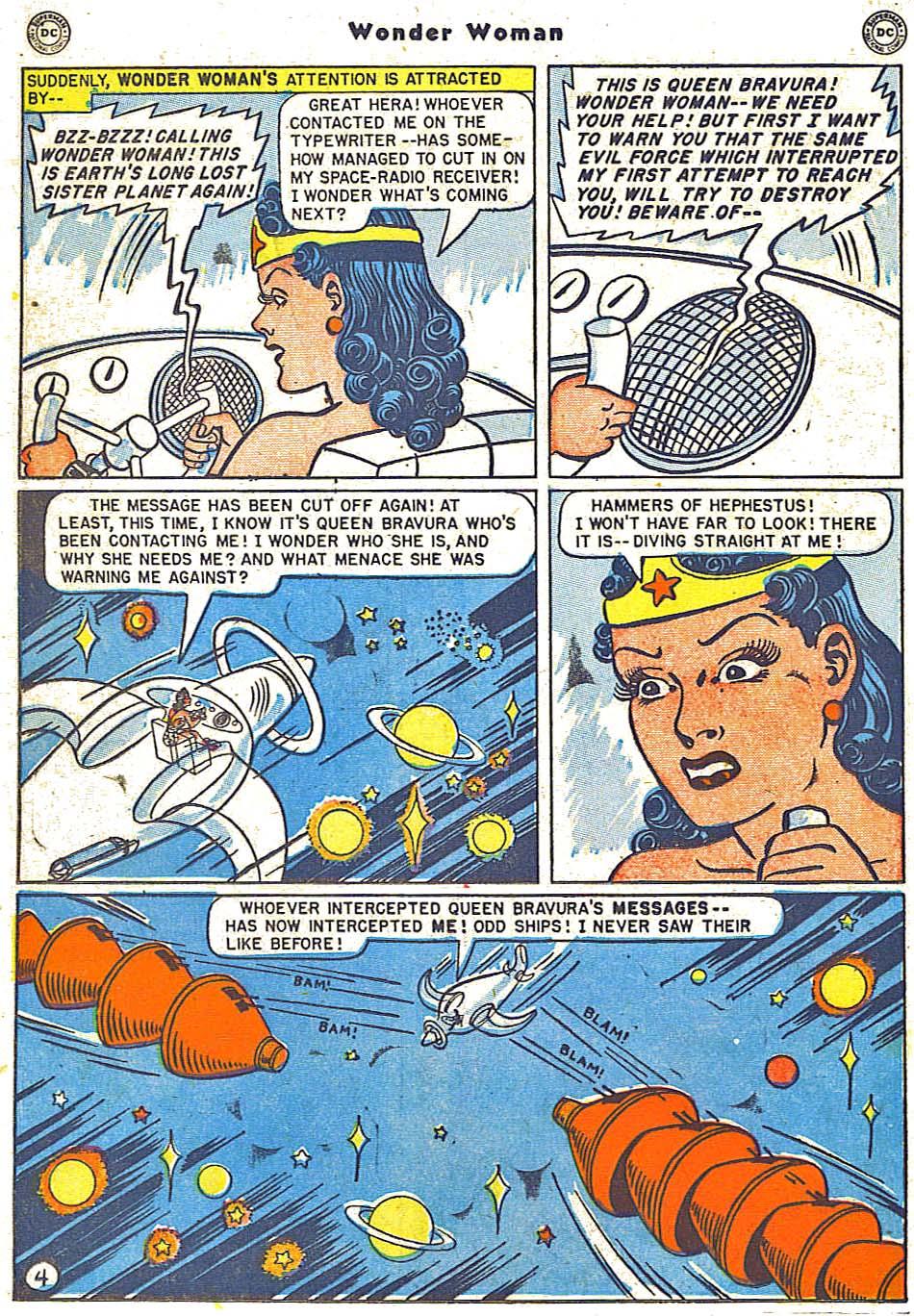 Read online Wonder Woman (1942) comic -  Issue #38 - 20