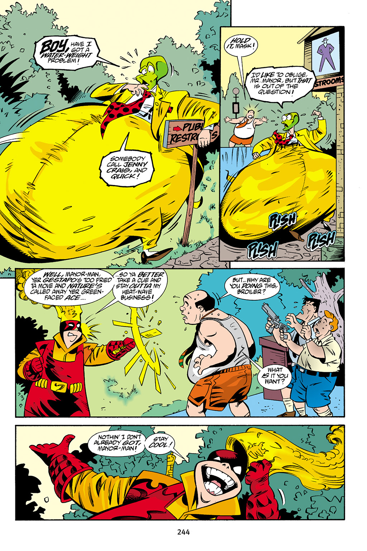Read online Adventures Of The Mask Omnibus comic -  Issue #Adventures Of The Mask Omnibus Full - 243