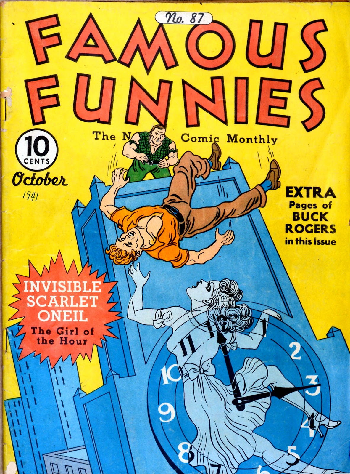 Read online Famous Funnies comic -  Issue #87 - 1