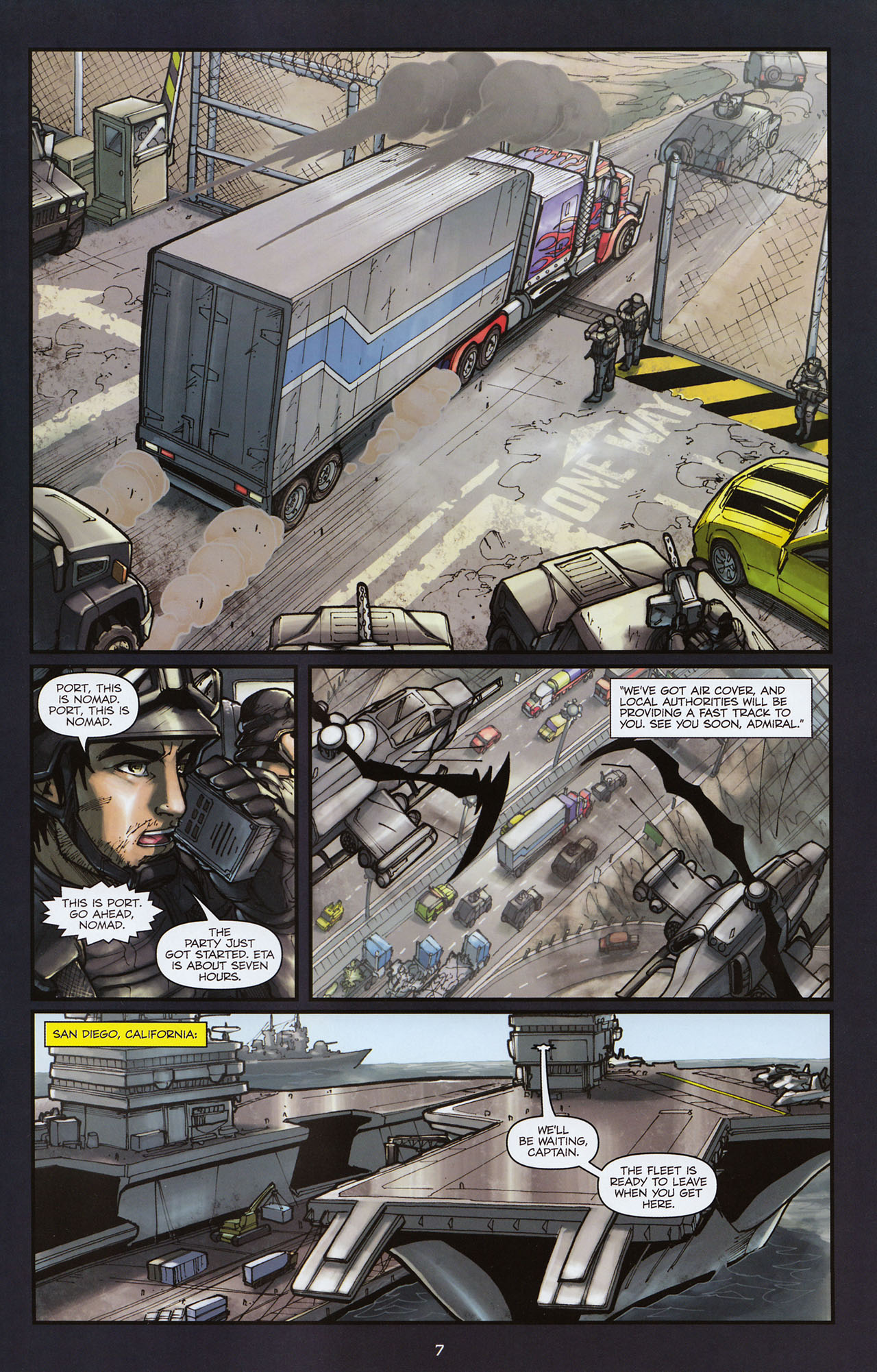 Read online Transformers: Alliance comic -  Issue #2 - 10