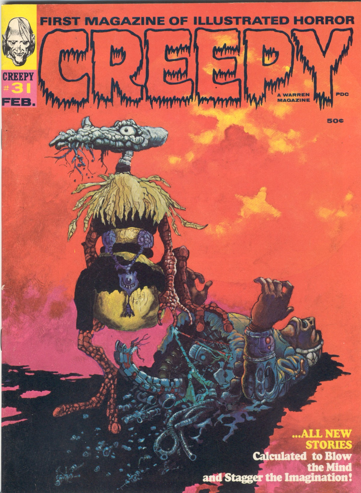Creepy (1964) 31 Page 1