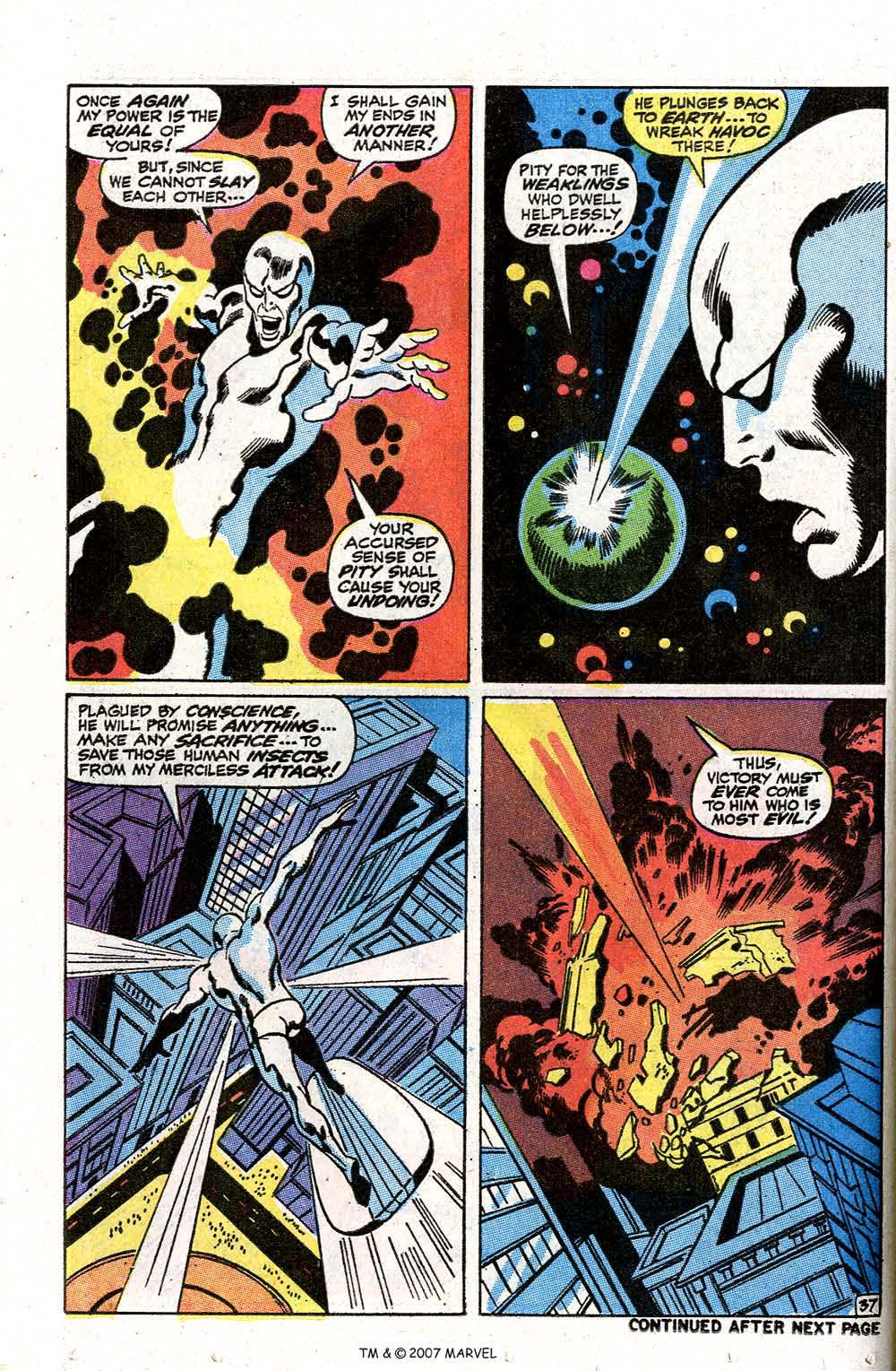 Read online Silver Surfer (1968) comic -  Issue #7 - 44
