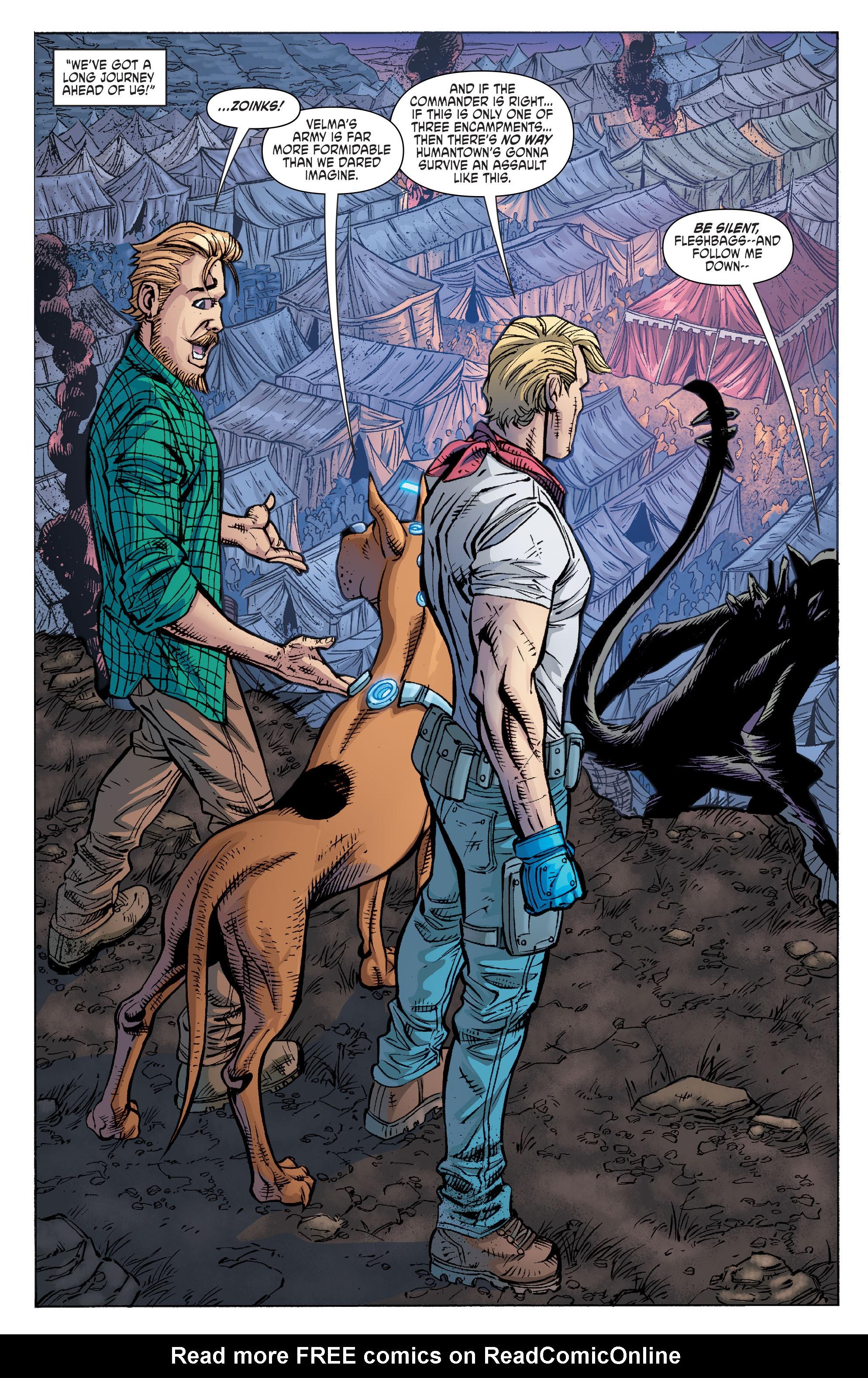 Read online Scooby Apocalypse comic -  Issue #10 - 17