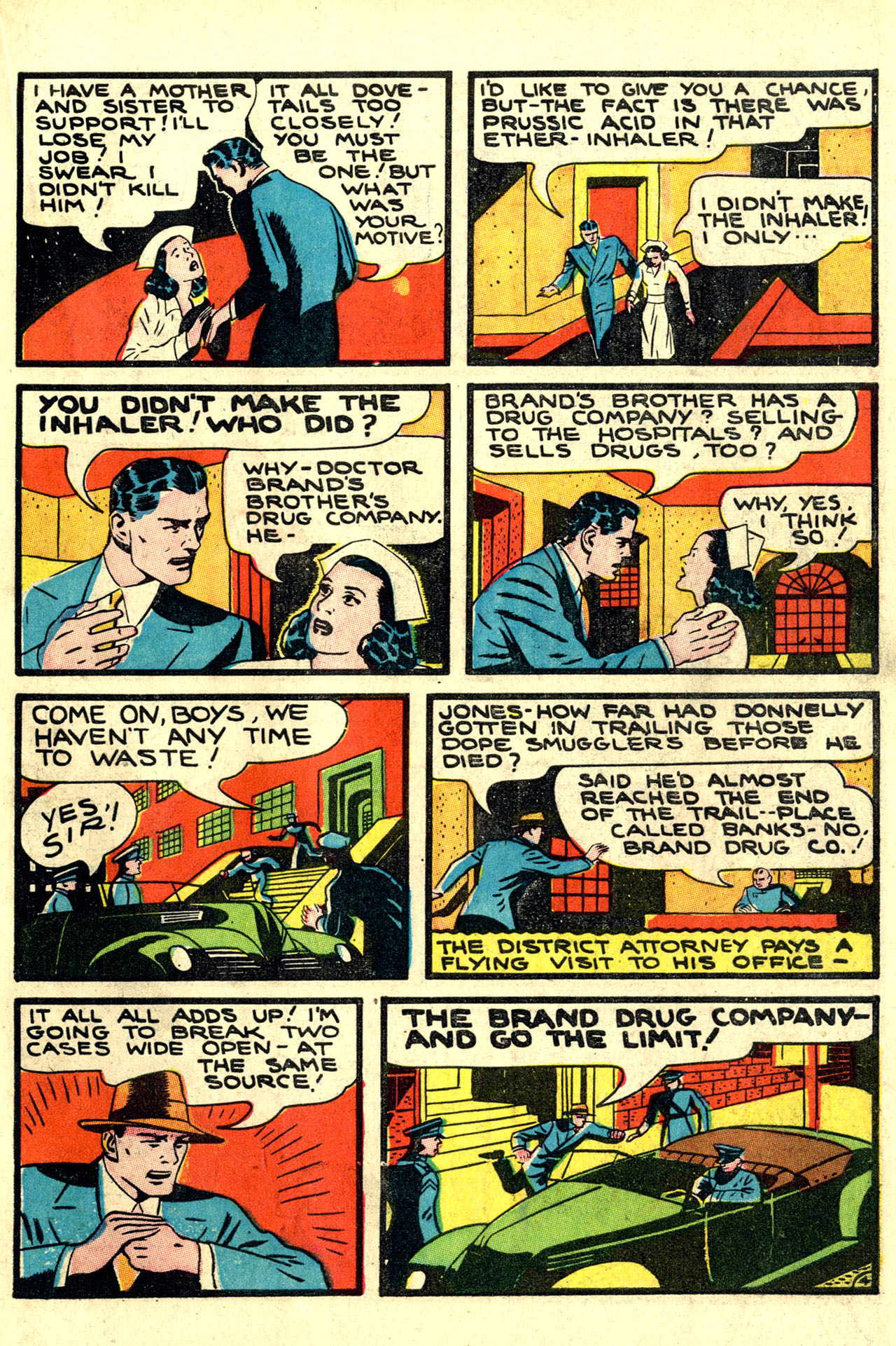 Read online Detective Comics (1937) comic -  Issue #44 - 47