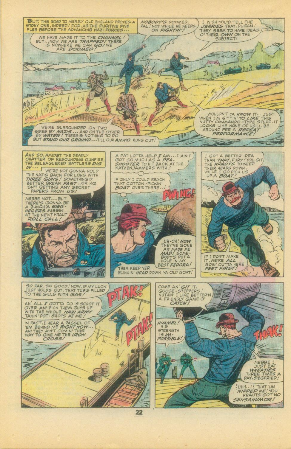 Read online Sgt. Fury comic -  Issue #136 - 24