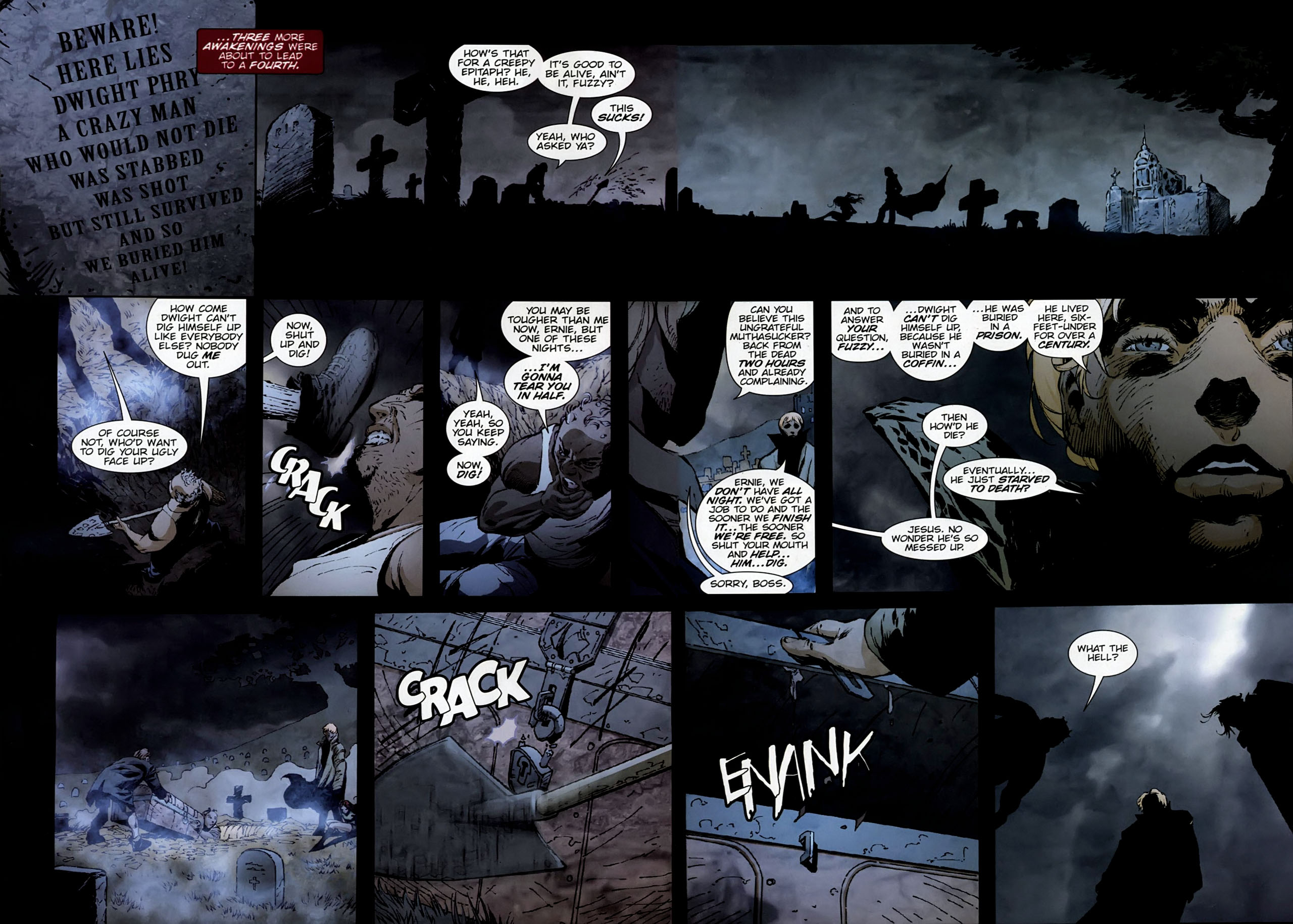 Read online Dead Romeo comic -  Issue #1 - 7