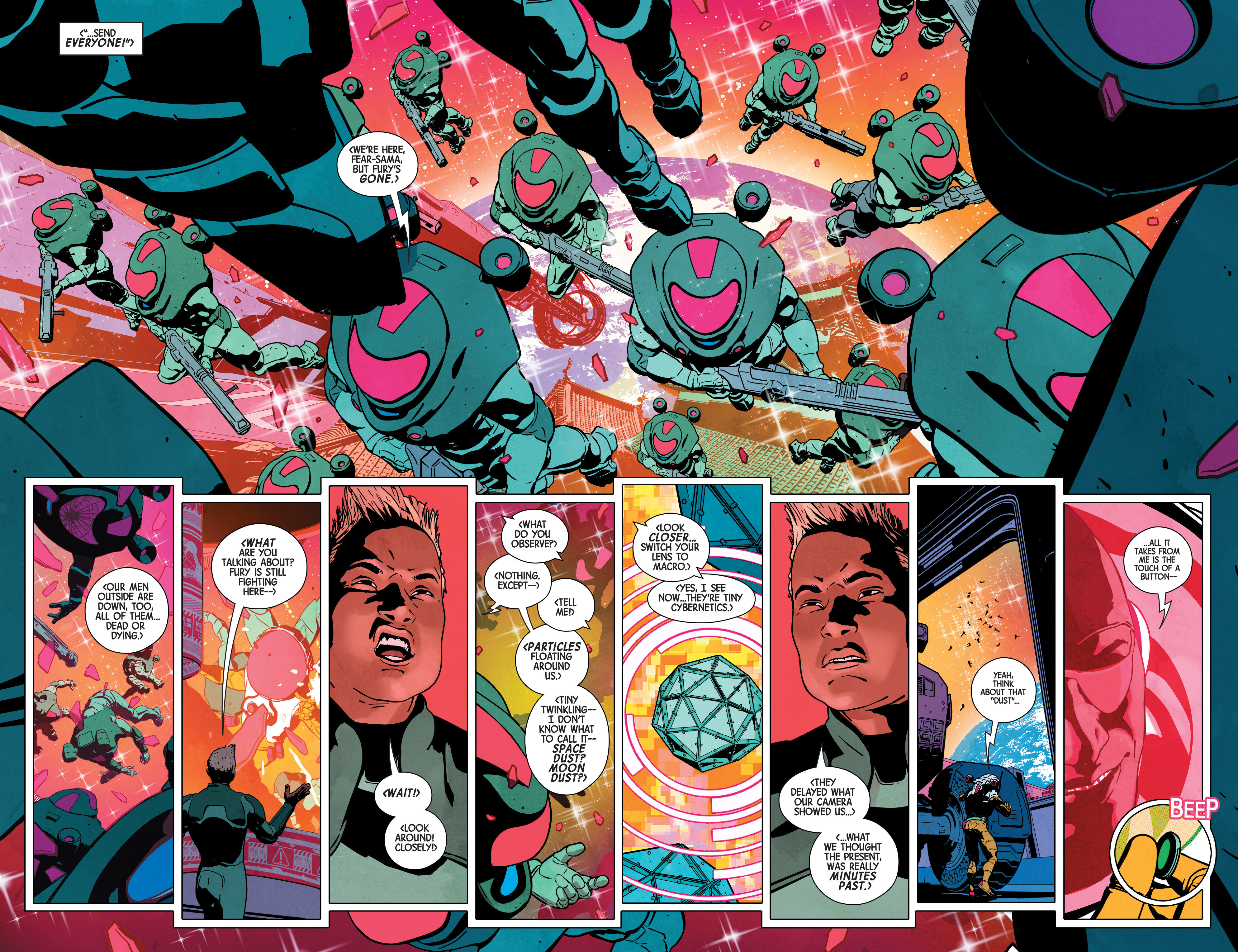 Read online Nick Fury comic -  Issue #2 - 6