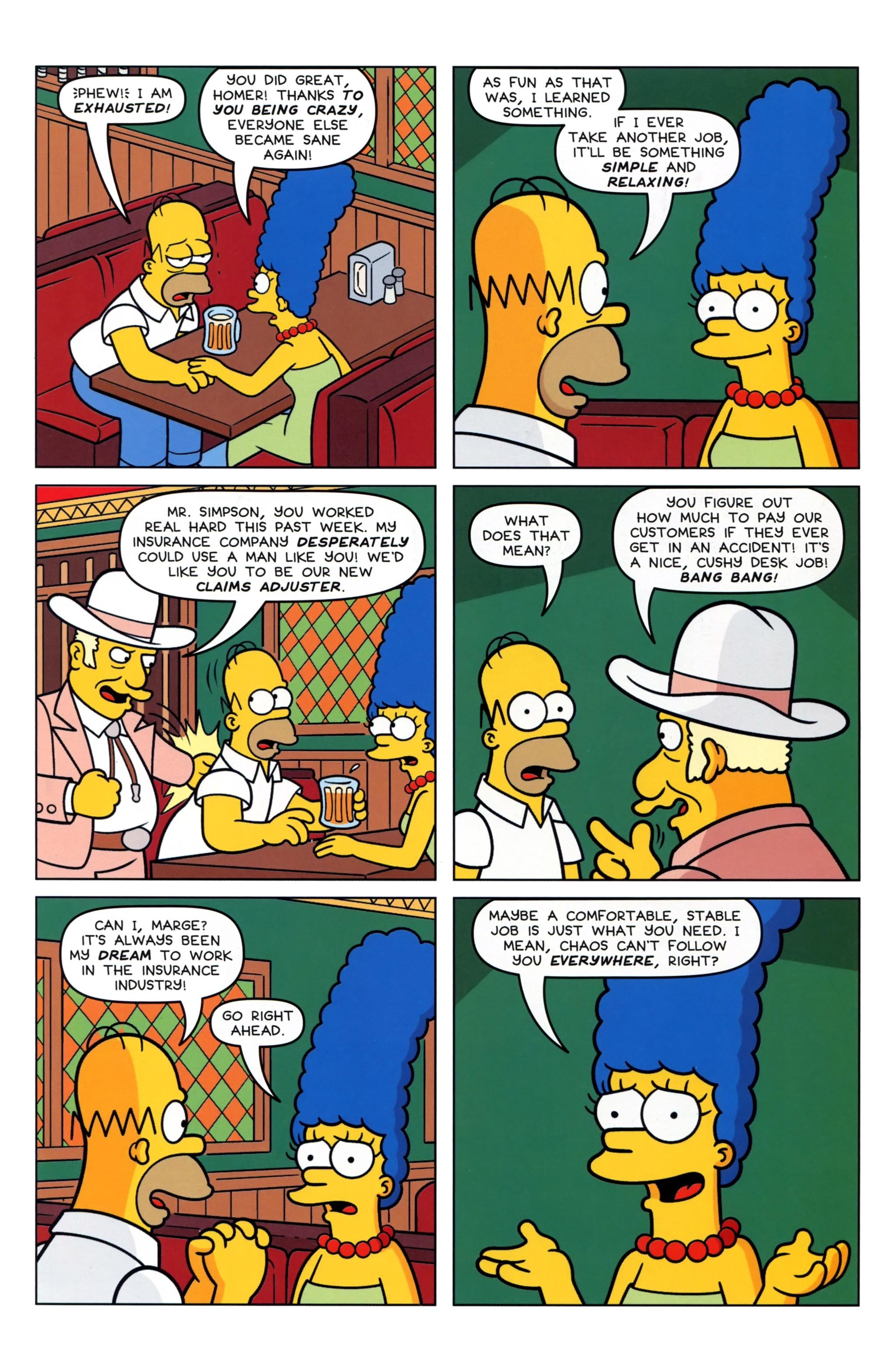 Read online Simpsons Comics comic -  Issue #223 - 25