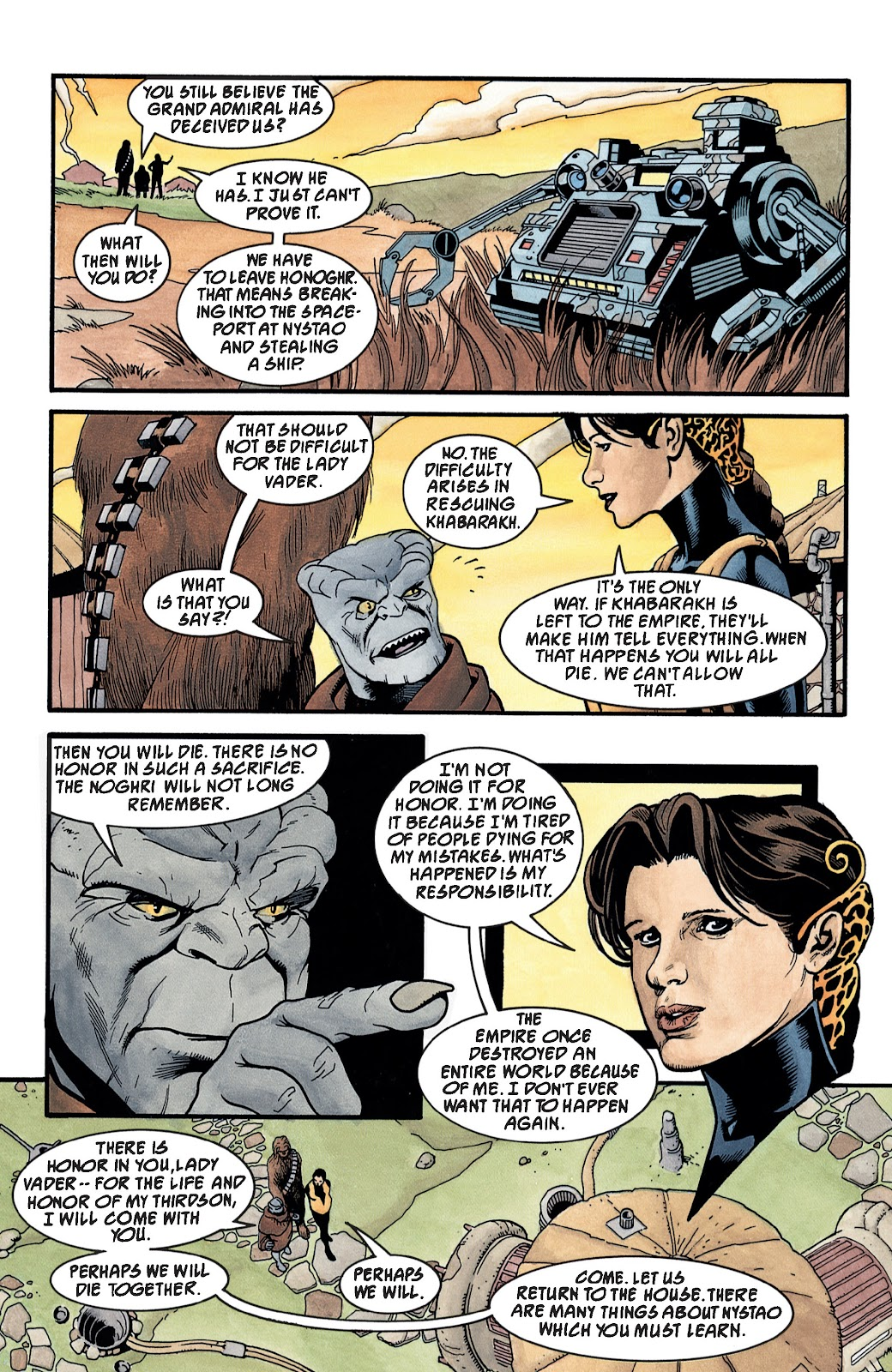 Read online Star Wars Legends: The New Republic - Epic Collection comic -  Issue # TPB 4 (Part 3) - 32