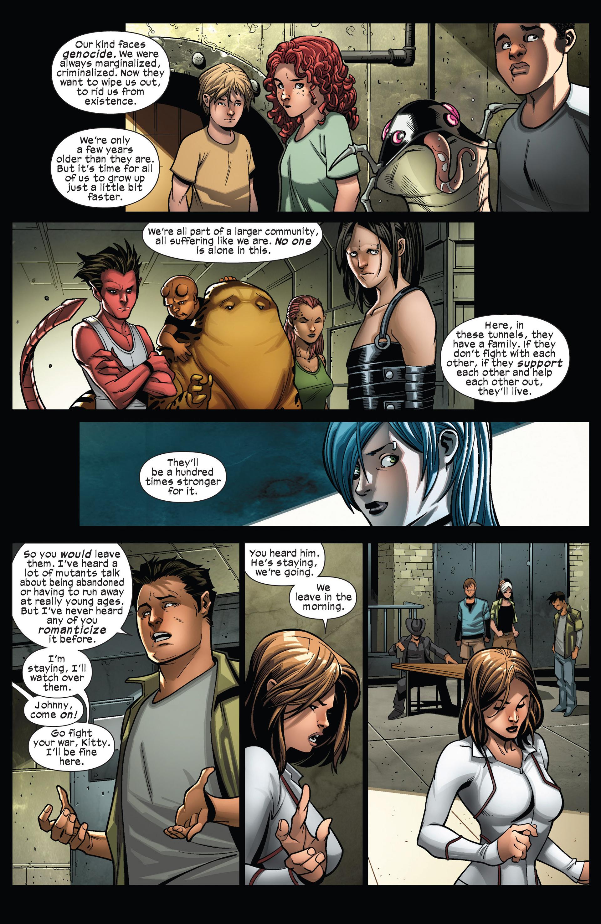 Read online Ultimate Comics X-Men comic -  Issue #13 - 17