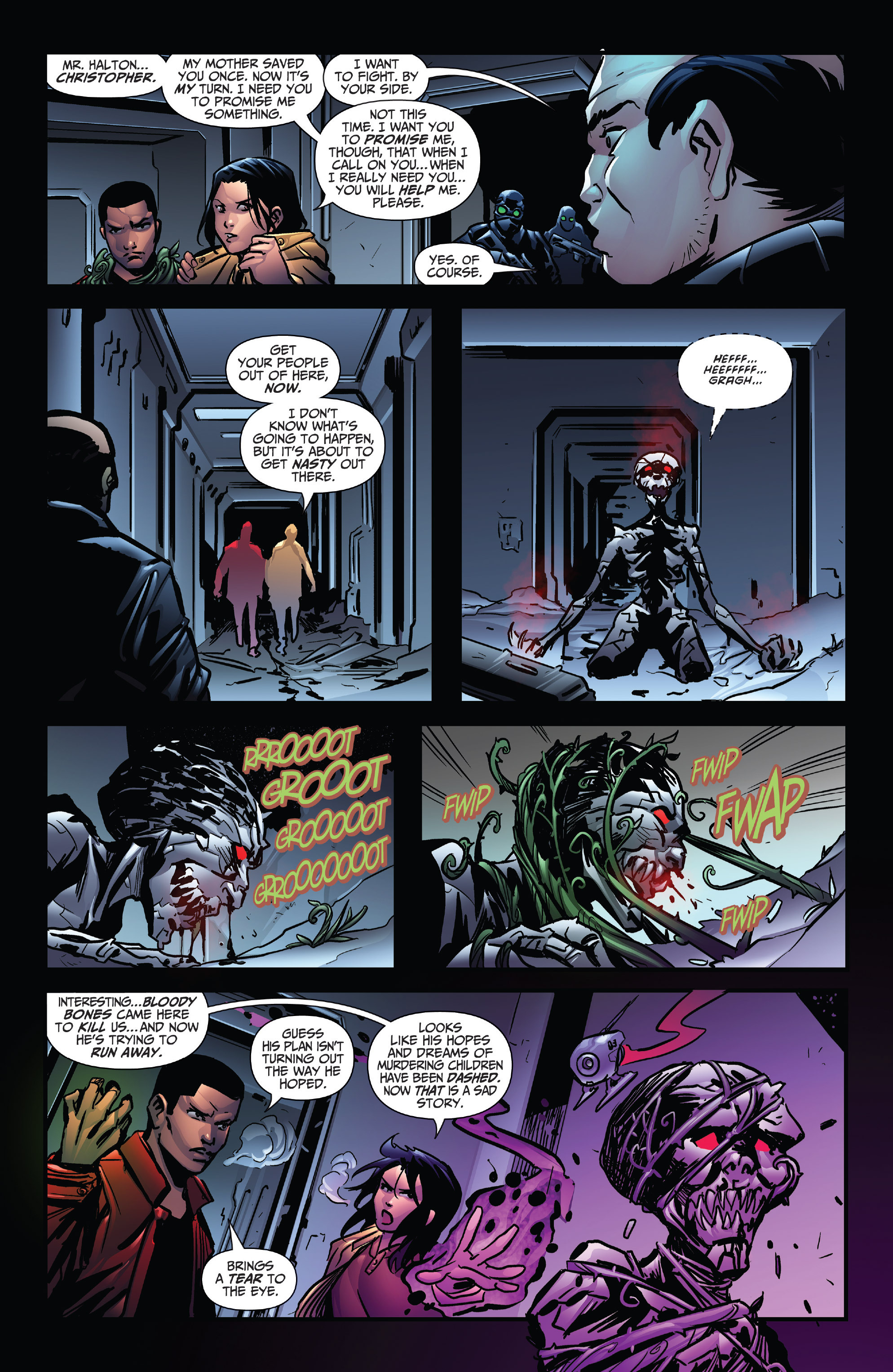 Read online Grimm Fairy Tales: Arcane Acre comic -  Issue # TPB 4 - 58
