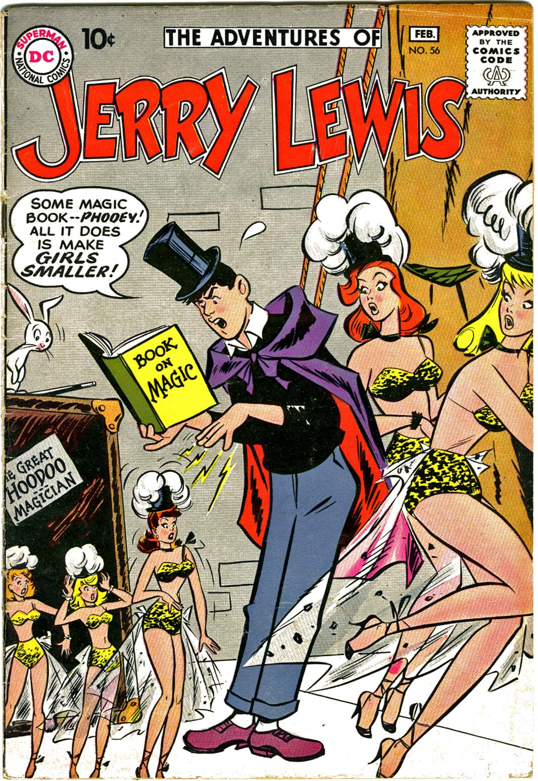 The Adventures of Jerry Lewis 56 Page 1
