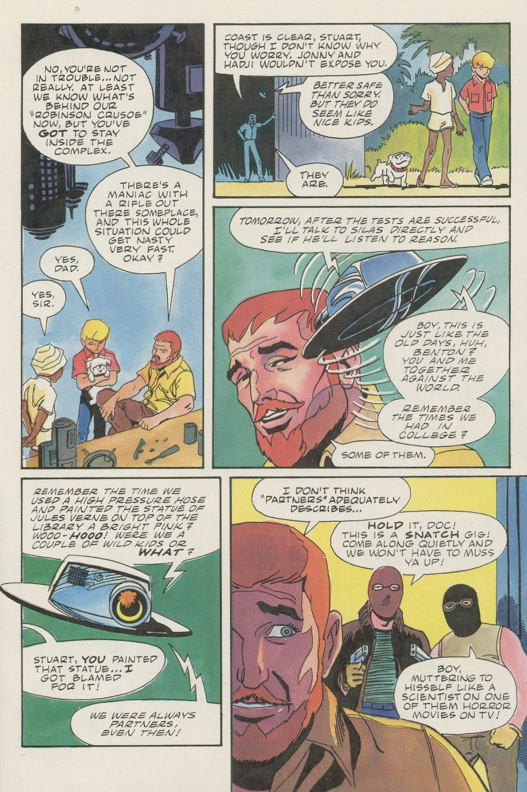 Jonny Quest (1986) issue 17 - Page 23