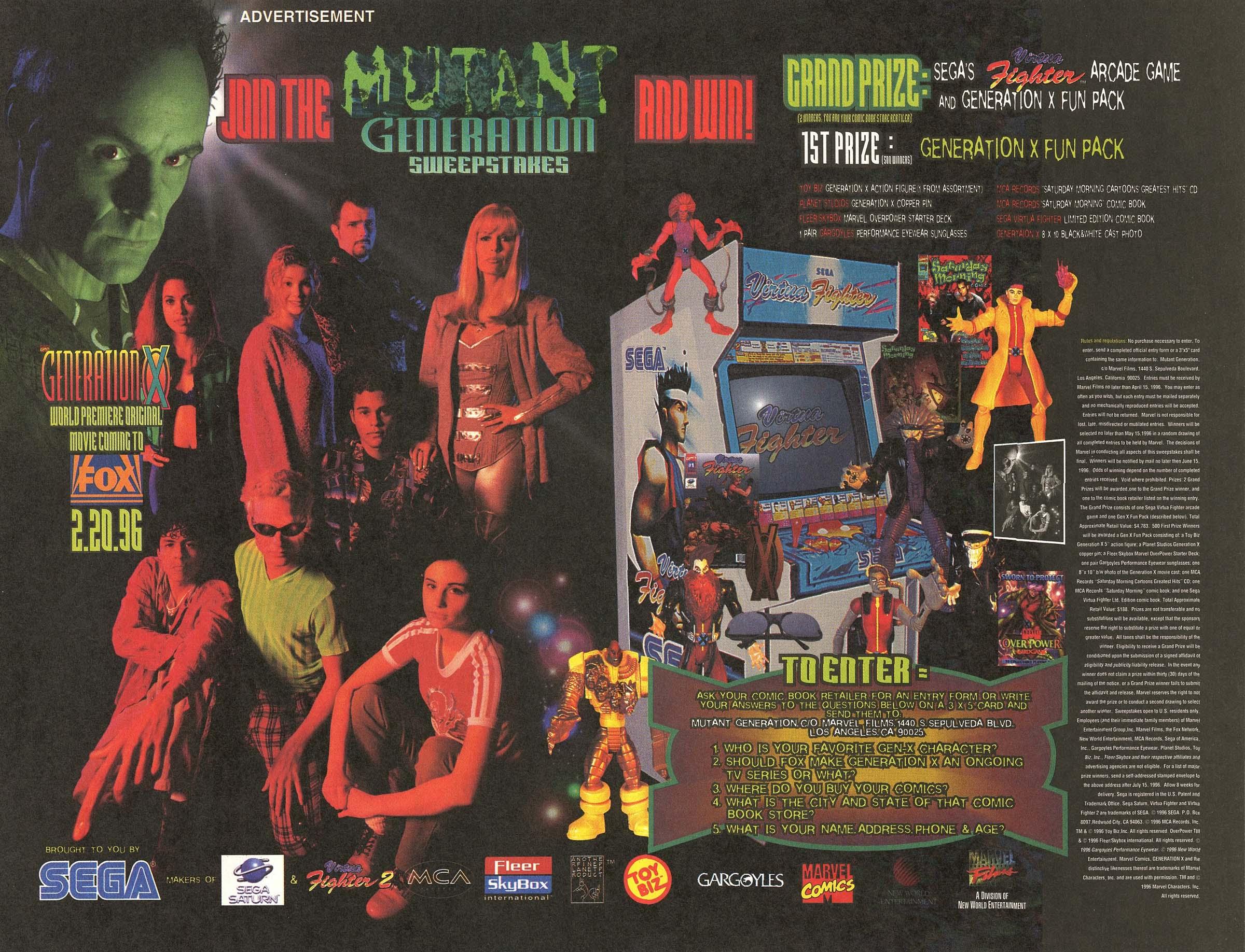 Read online UltraForce (1995) comic -  Issue #6 - 23