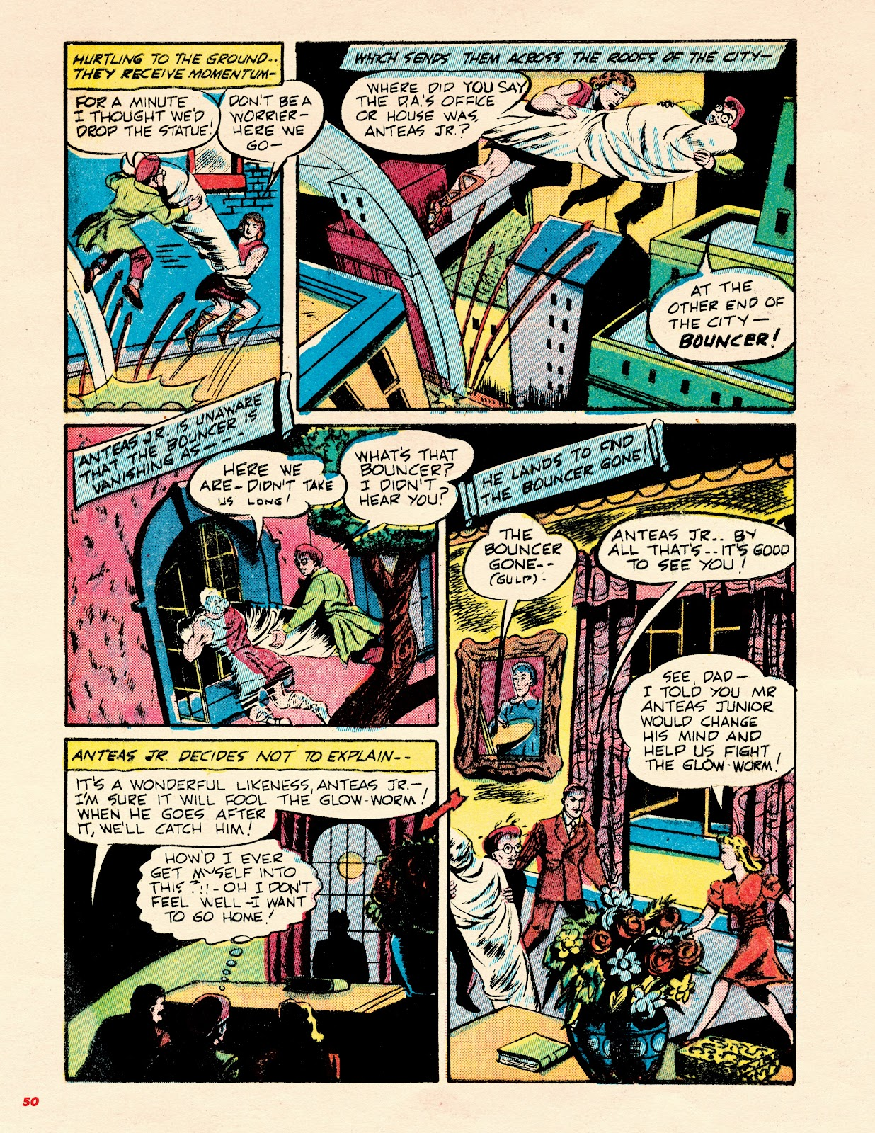 Read online Super Weird Heroes comic -  Issue # TPB 2 (Part 1) - 50