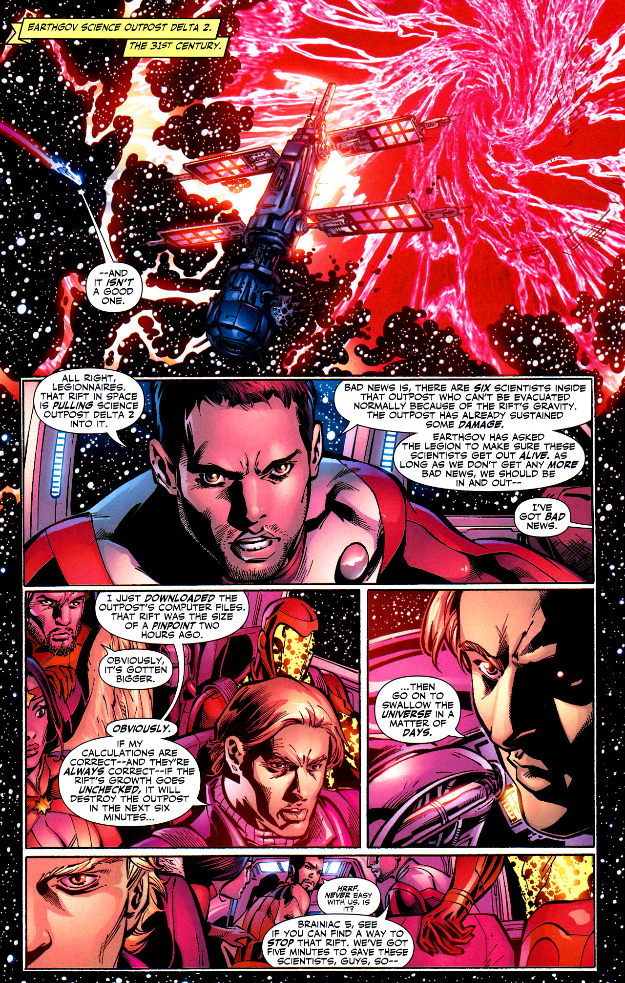 Read online Adventure Comics (2009) comic -  Issue #8 - 6