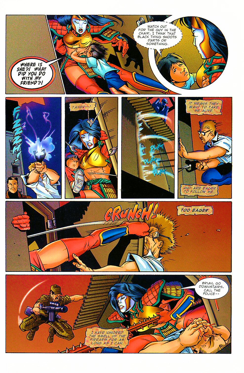 Read online Shi: The Way of the Warrior comic -  Issue #8 - 17