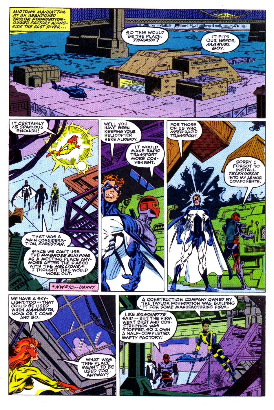 The New Warriors Issue #15 #19 - English 10