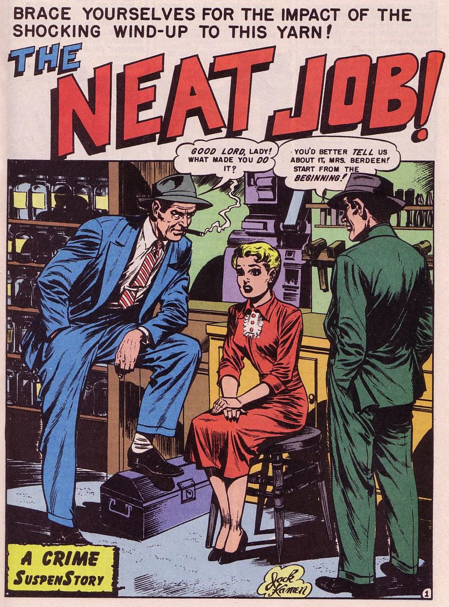 Read online Shock SuspenStories comic -  Issue #1 - 2