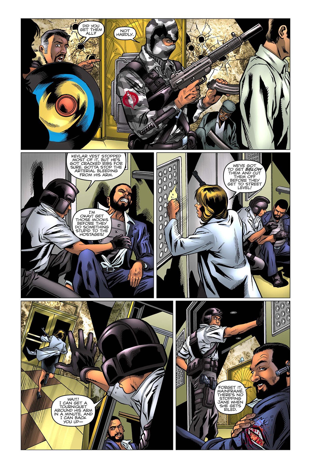 G.I. Joe: A Real American Hero 169 Page 19