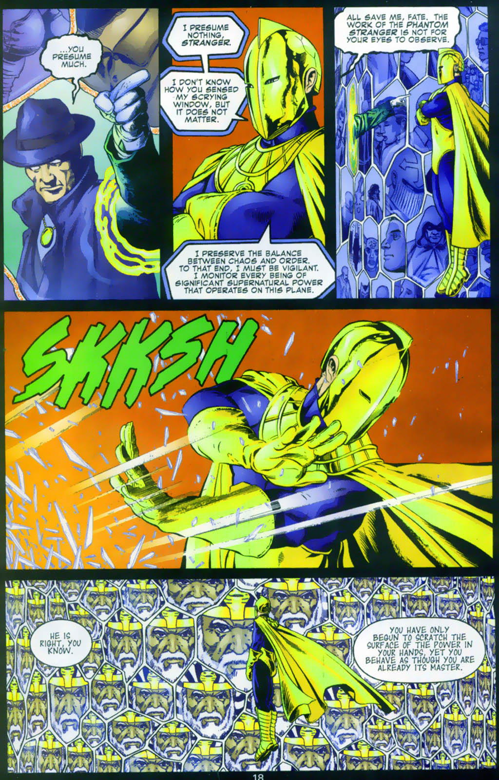 Read online Doctor Fate (2003) comic -  Issue #1 - 18