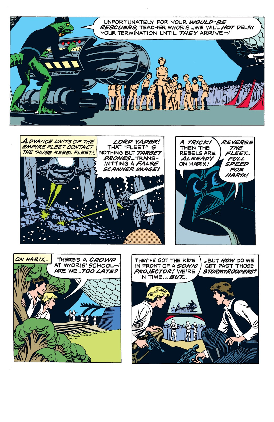 Read online Star Wars Legends: The Newspaper Strips - Epic Collection comic -  Issue # TPB (Part 3) - 21
