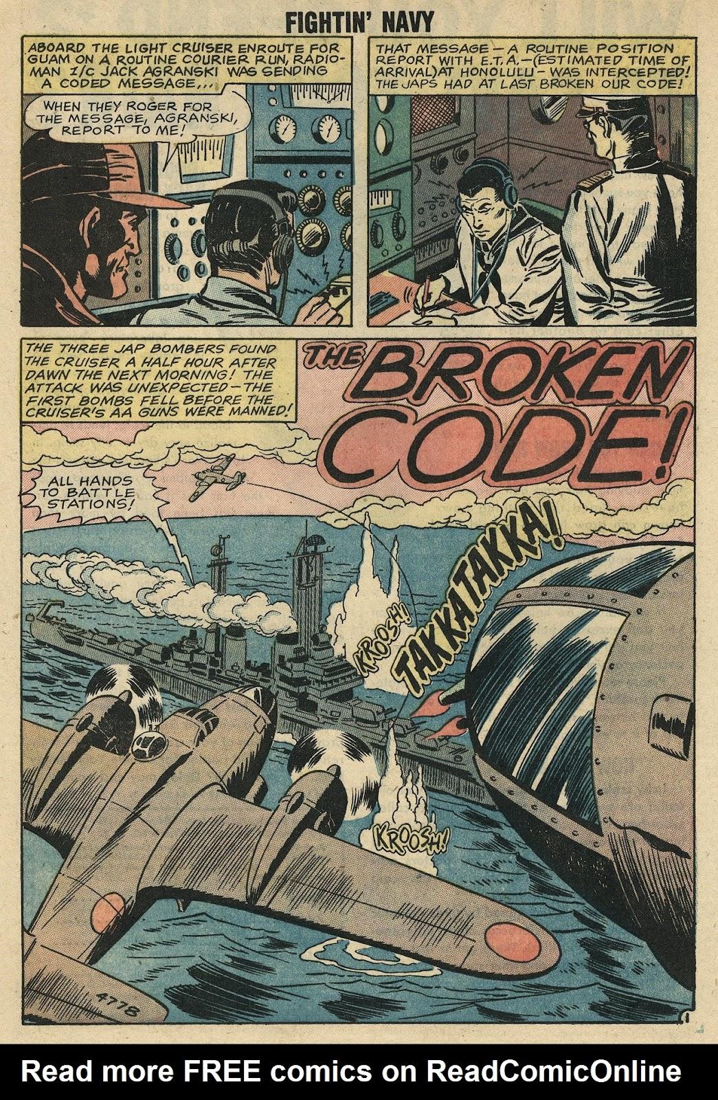 Read online Fightin' Navy comic -  Issue #86 - 20