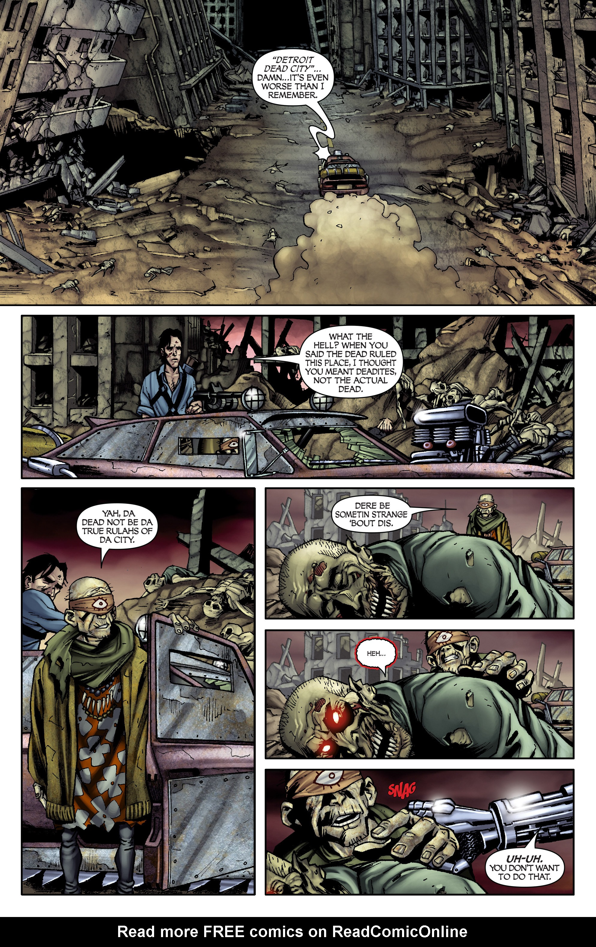 Read online Army of Darkness: From the Ashes comic -  Issue #Army of Darkness: From the Ashes TPB - 47