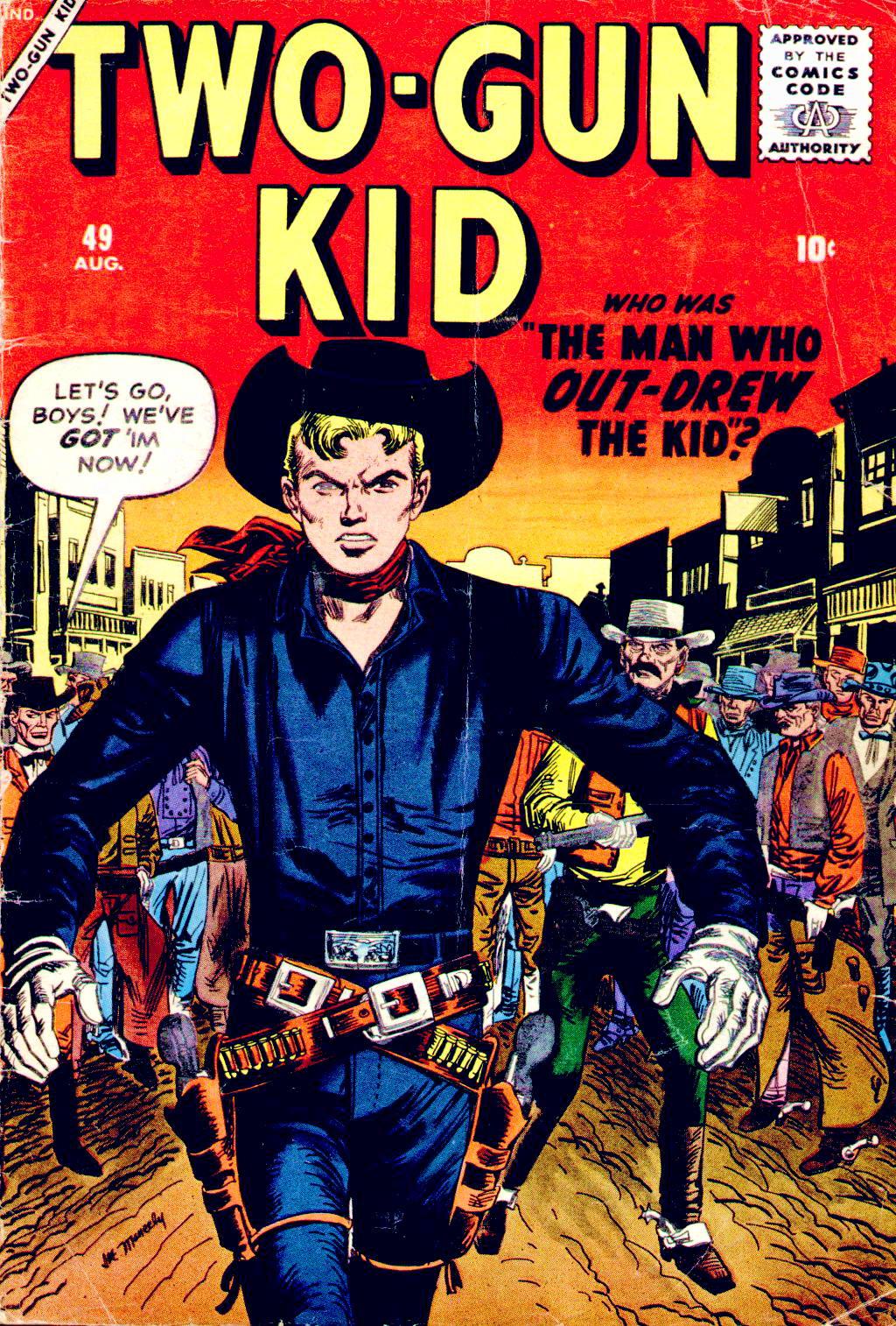 Read online Two-Gun Kid comic -  Issue #49 - 1