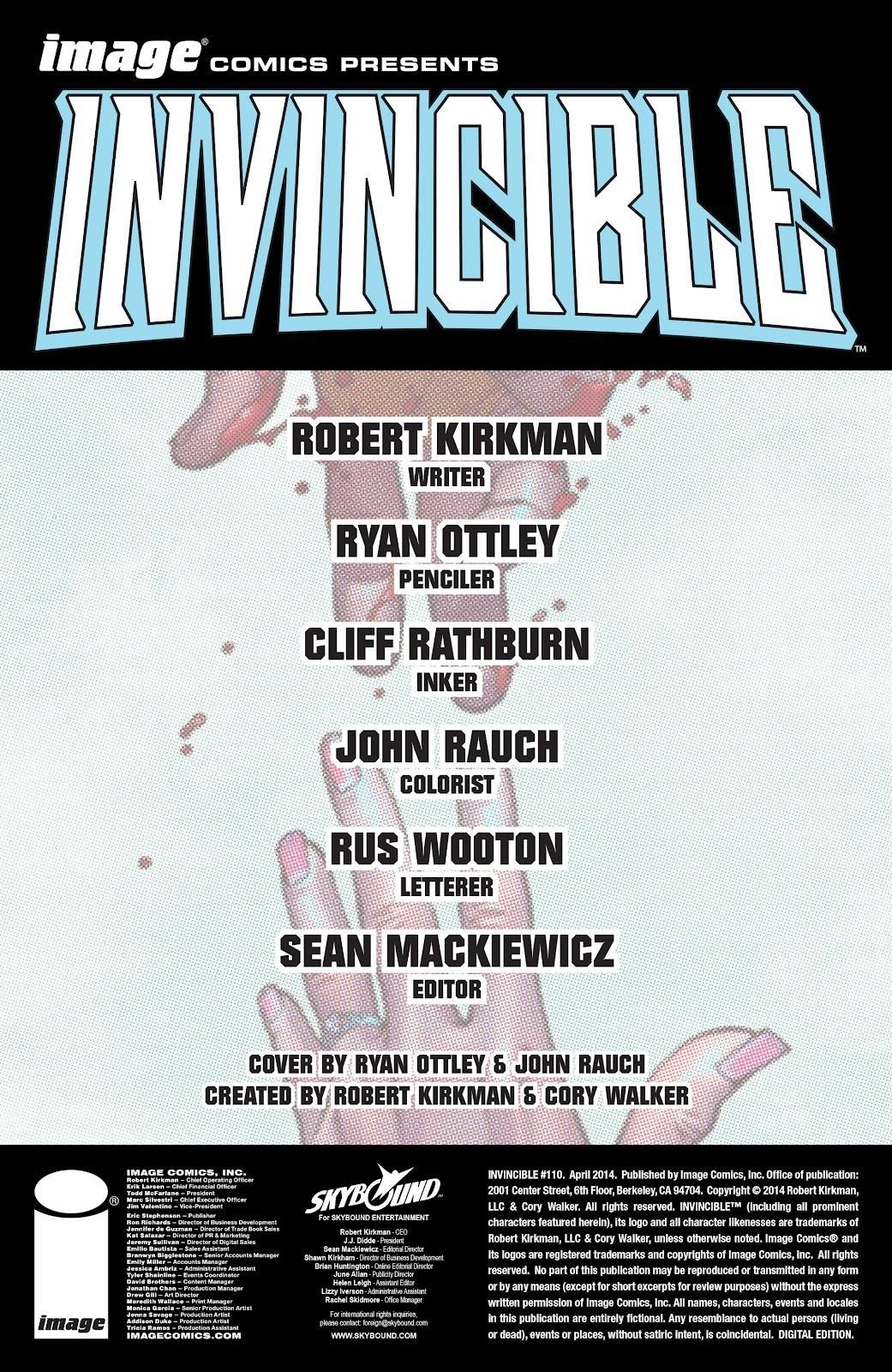 Invincible (2003) 110 Page 2