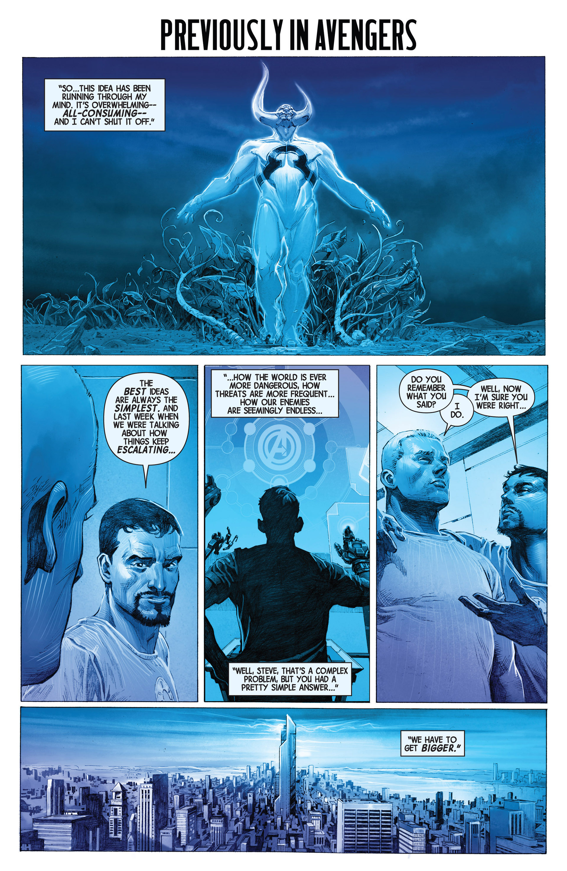 Read online Avengers (2013) comic -  Issue #2 - 2