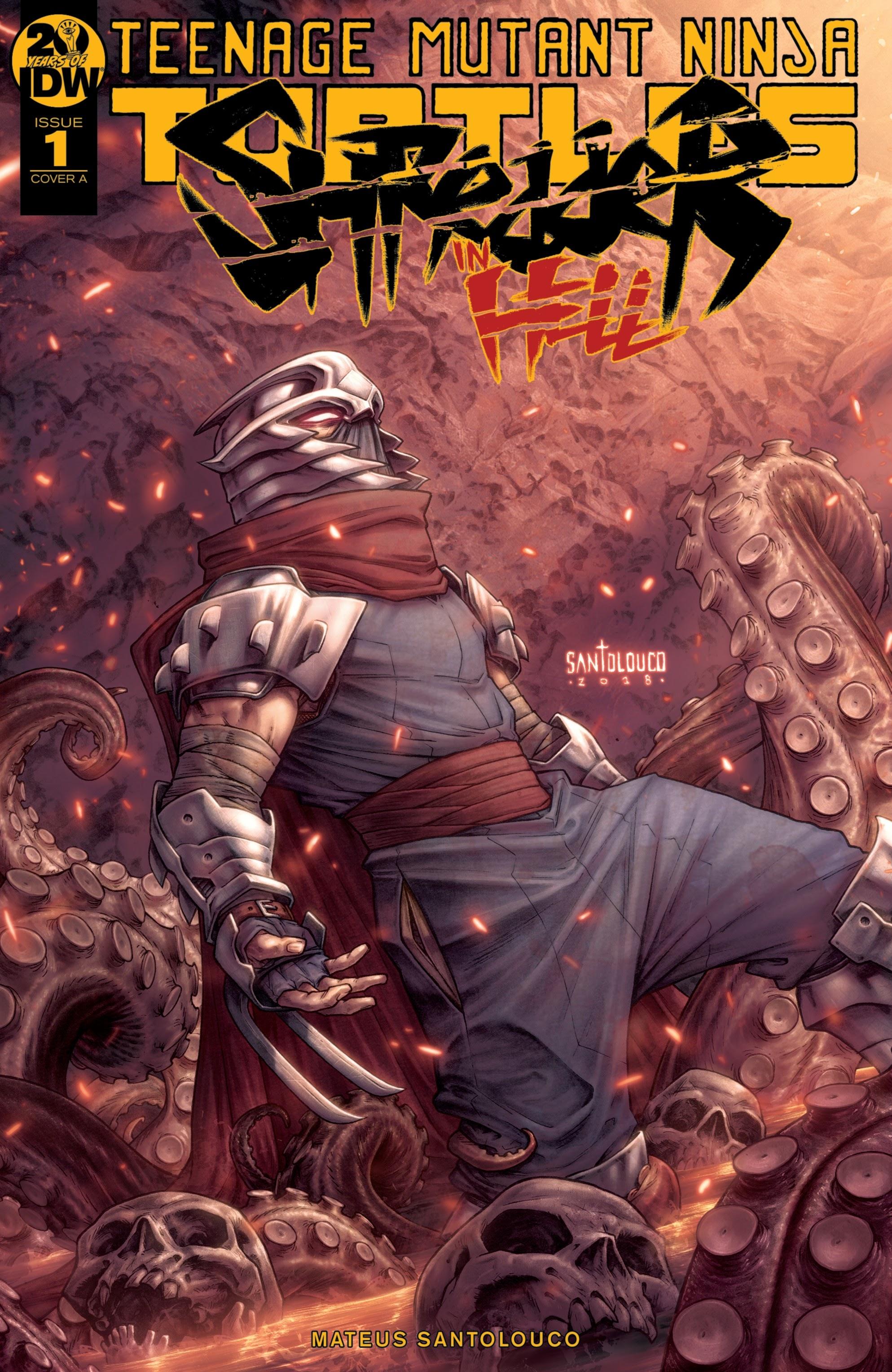 Teenage Mutant Ninja Turtles: Shredder in Hell 1 Page 1
