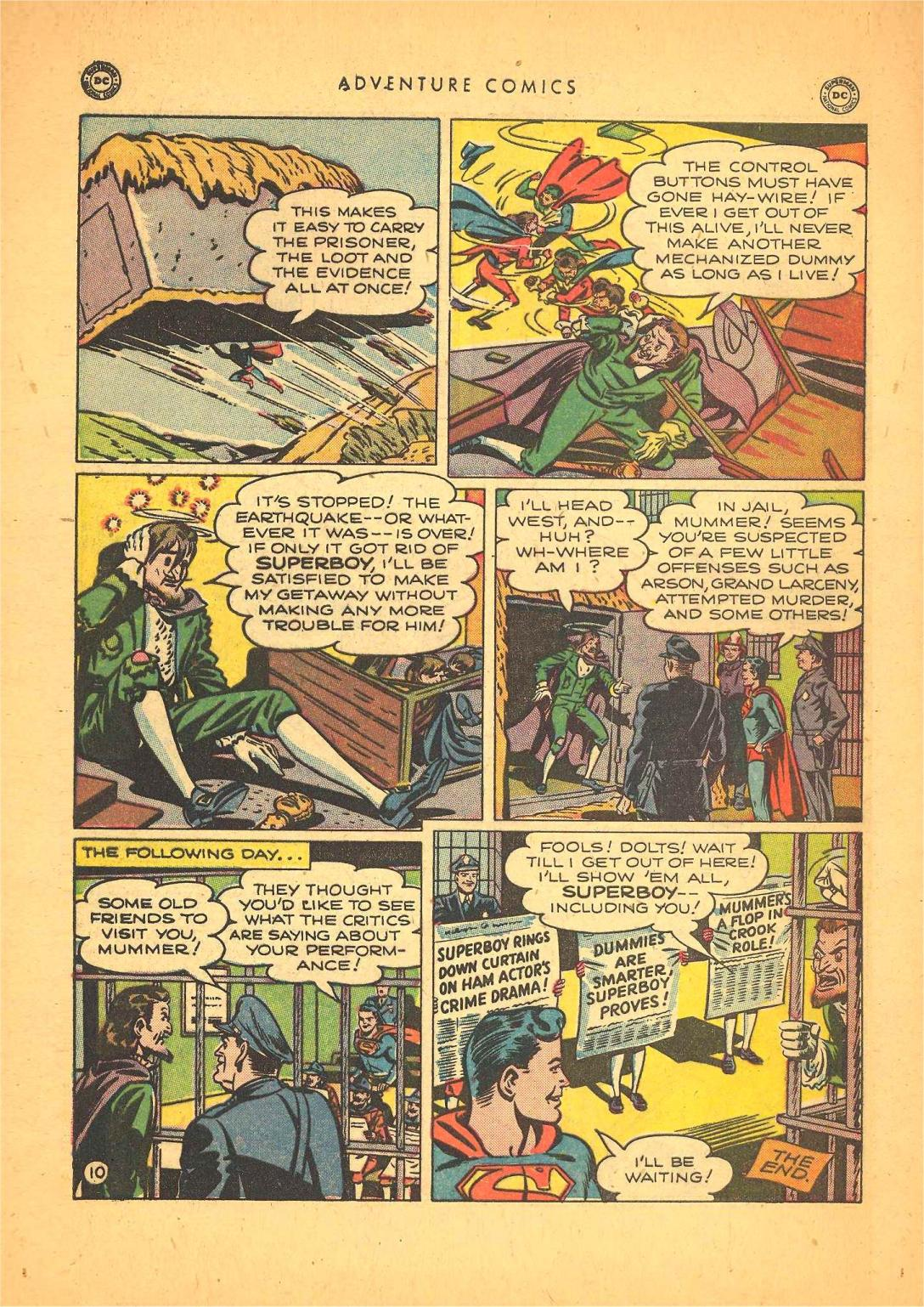 Read online Adventure Comics (1938) comic -  Issue #148 - 12