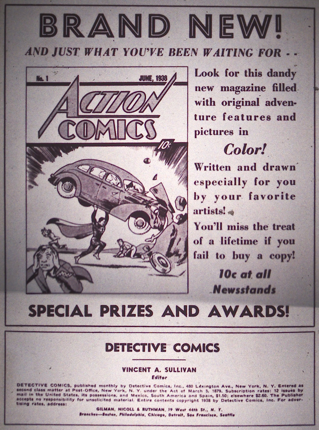 Read online Detective Comics (1937) comic -  Issue #15 - 2