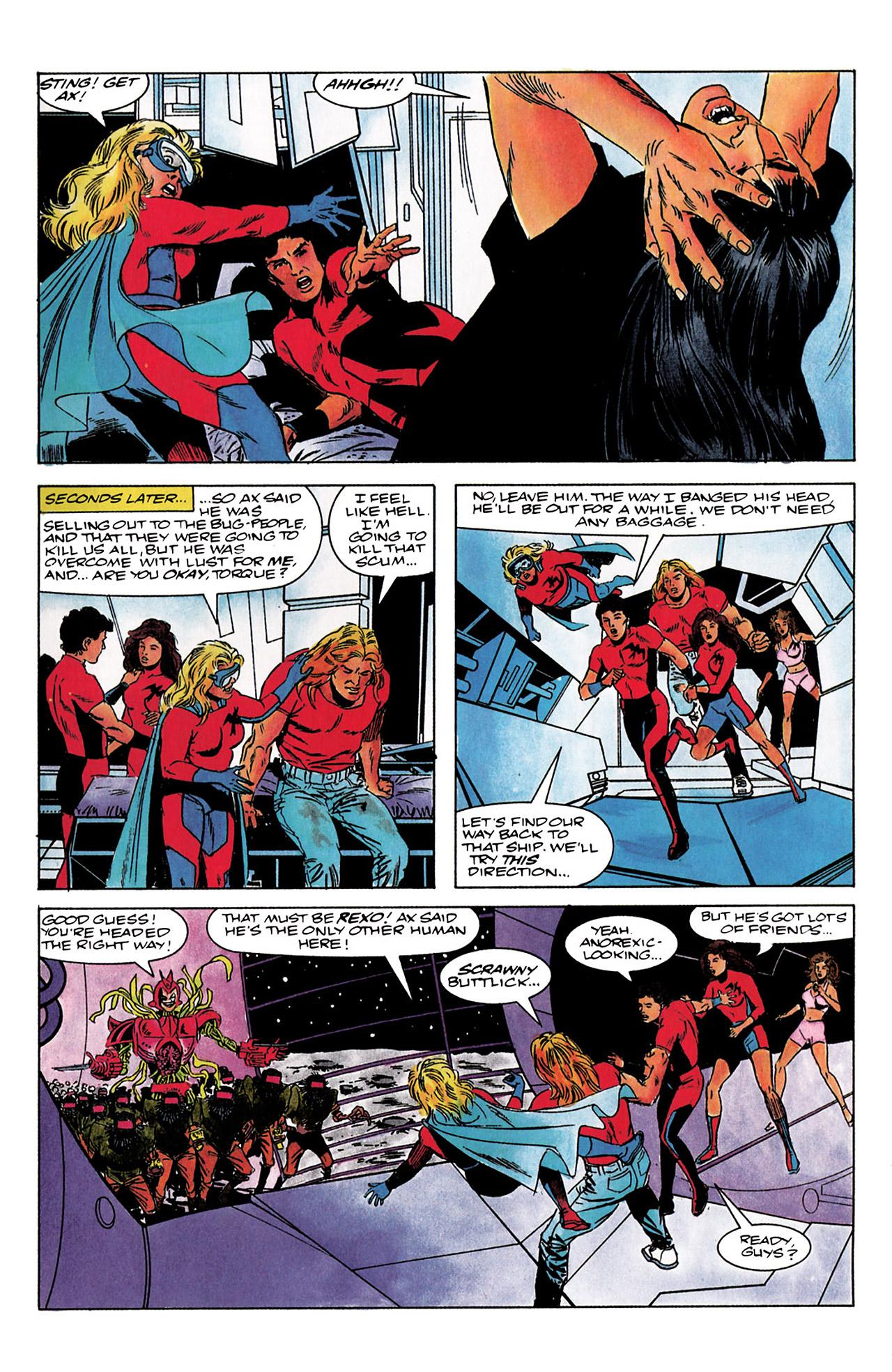 Read online Harbinger (1992) comic -  Issue #3 - 20