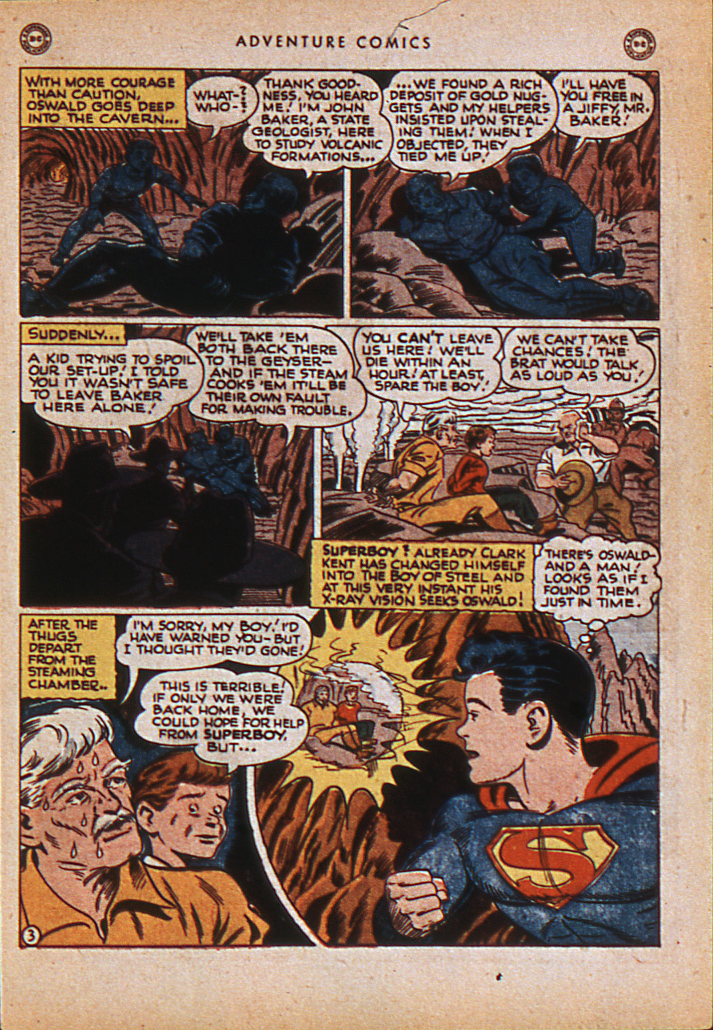 Read online Adventure Comics (1938) comic -  Issue #114 - 6