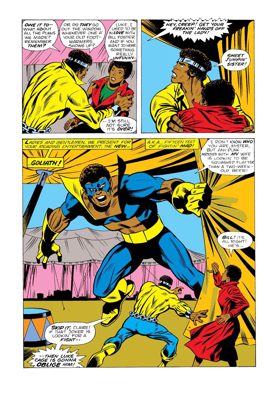 Read online Marvel Masterworks: Luke Cage, Power Man comic -  Issue # TPB 2 (Part 2) - 53