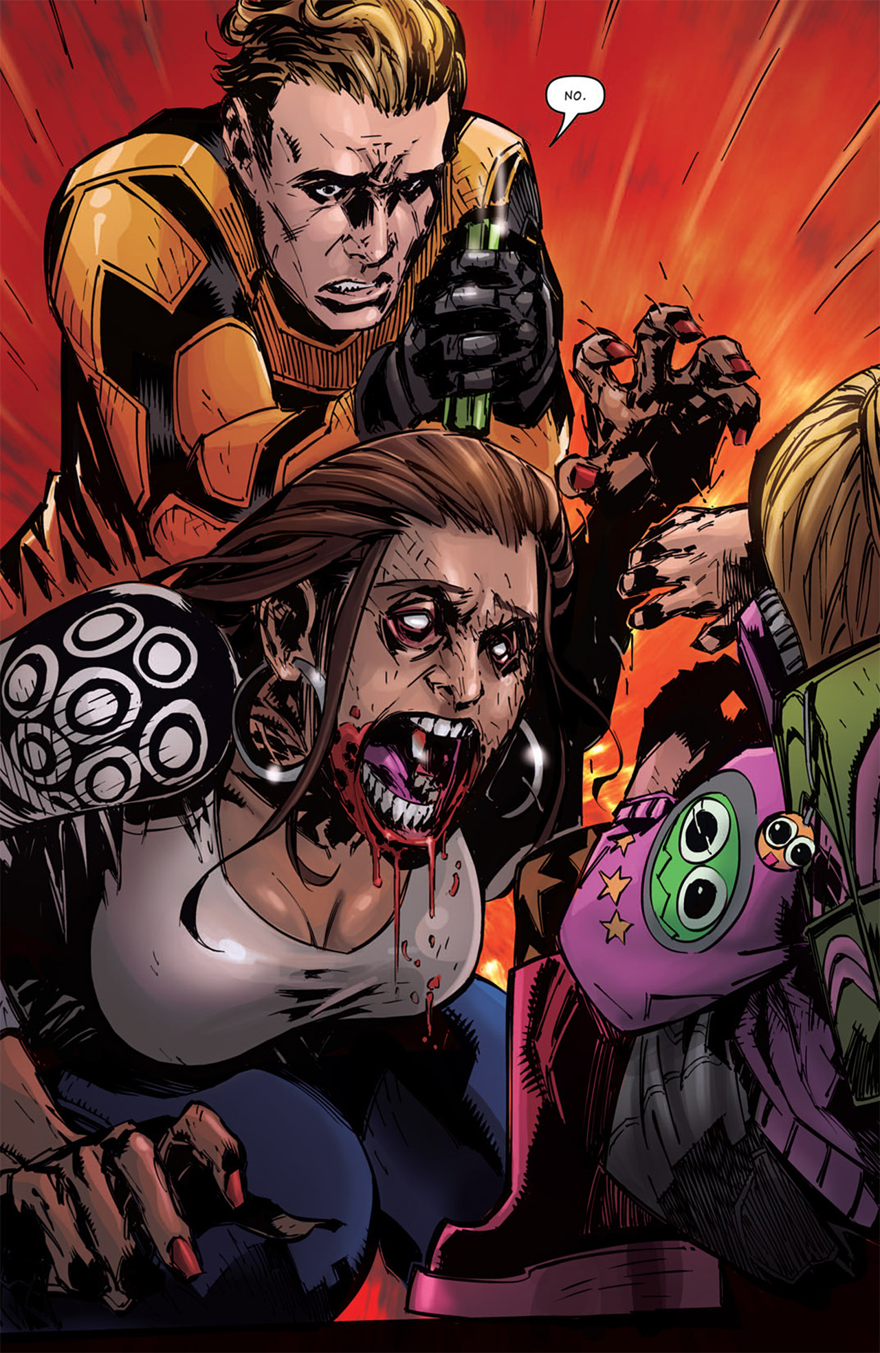 Read online Dead Rising: Road to Fortune comic -  Issue # TPB - 73