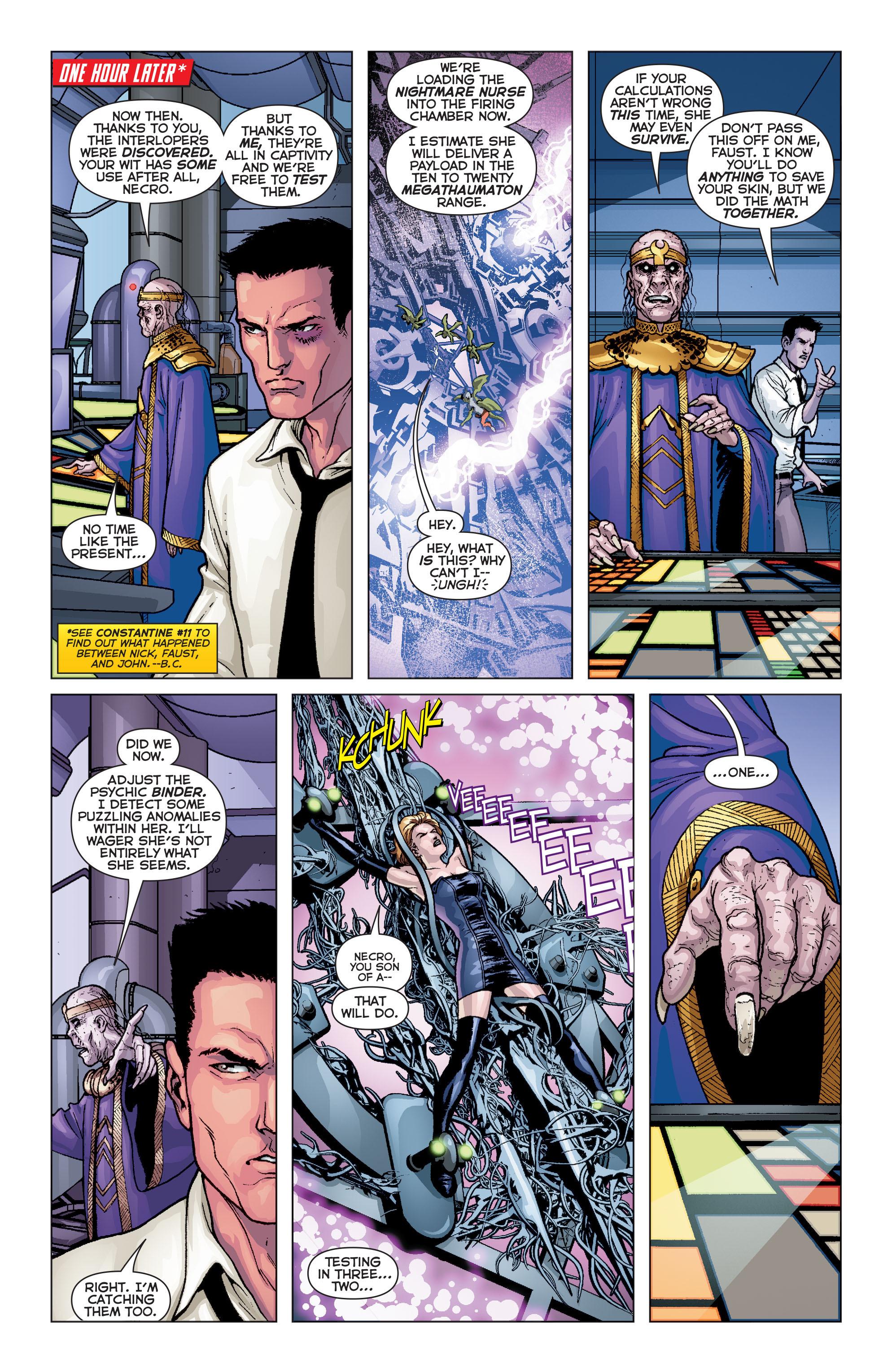 Read online Trinity of Sin: Pandora comic -  Issue #8 - 11
