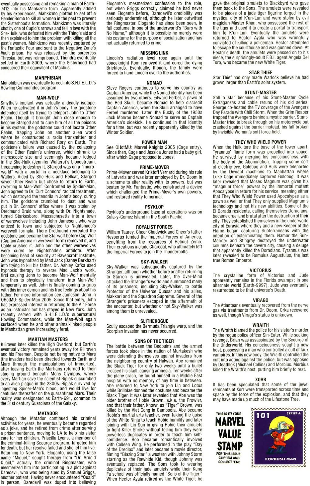Read online Marvel Legacy: The 1970's Handbook comic -  Issue # Full - 67