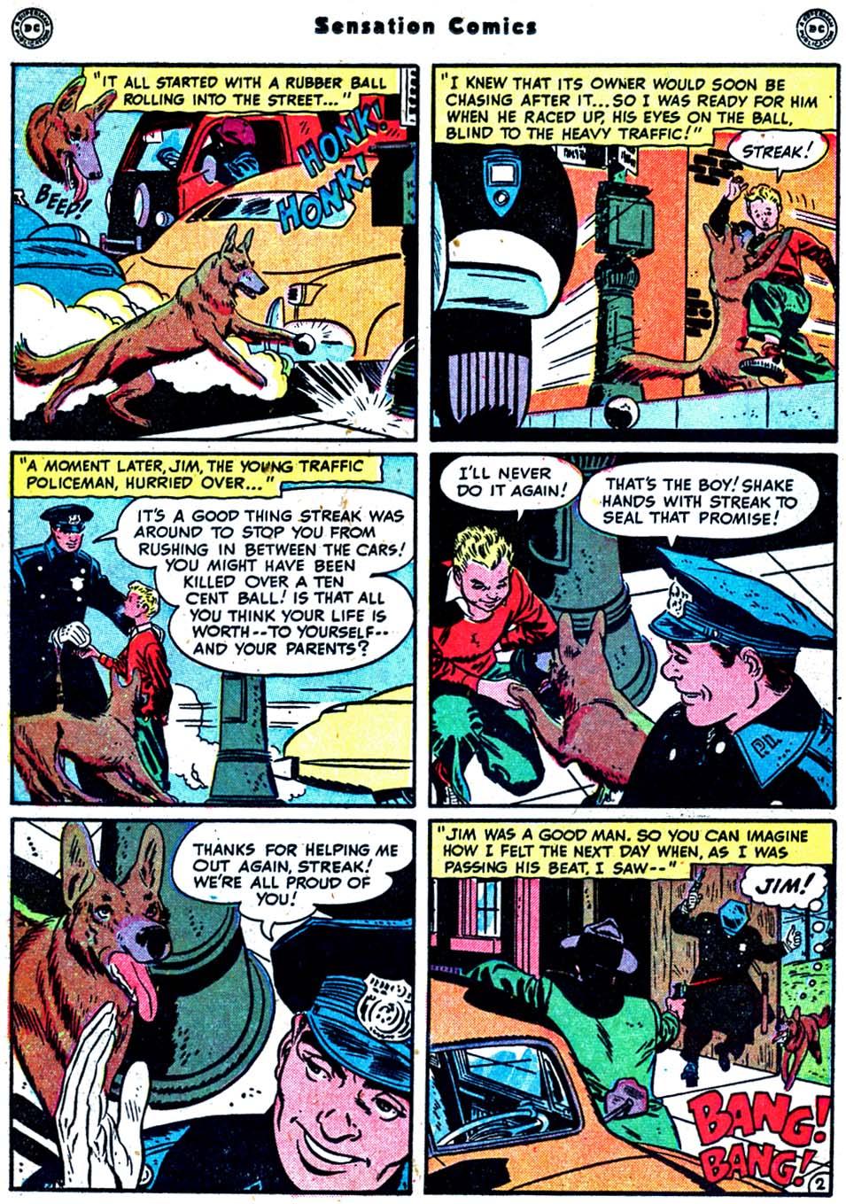 Read online Sensation (Mystery) Comics comic -  Issue #91 - 18