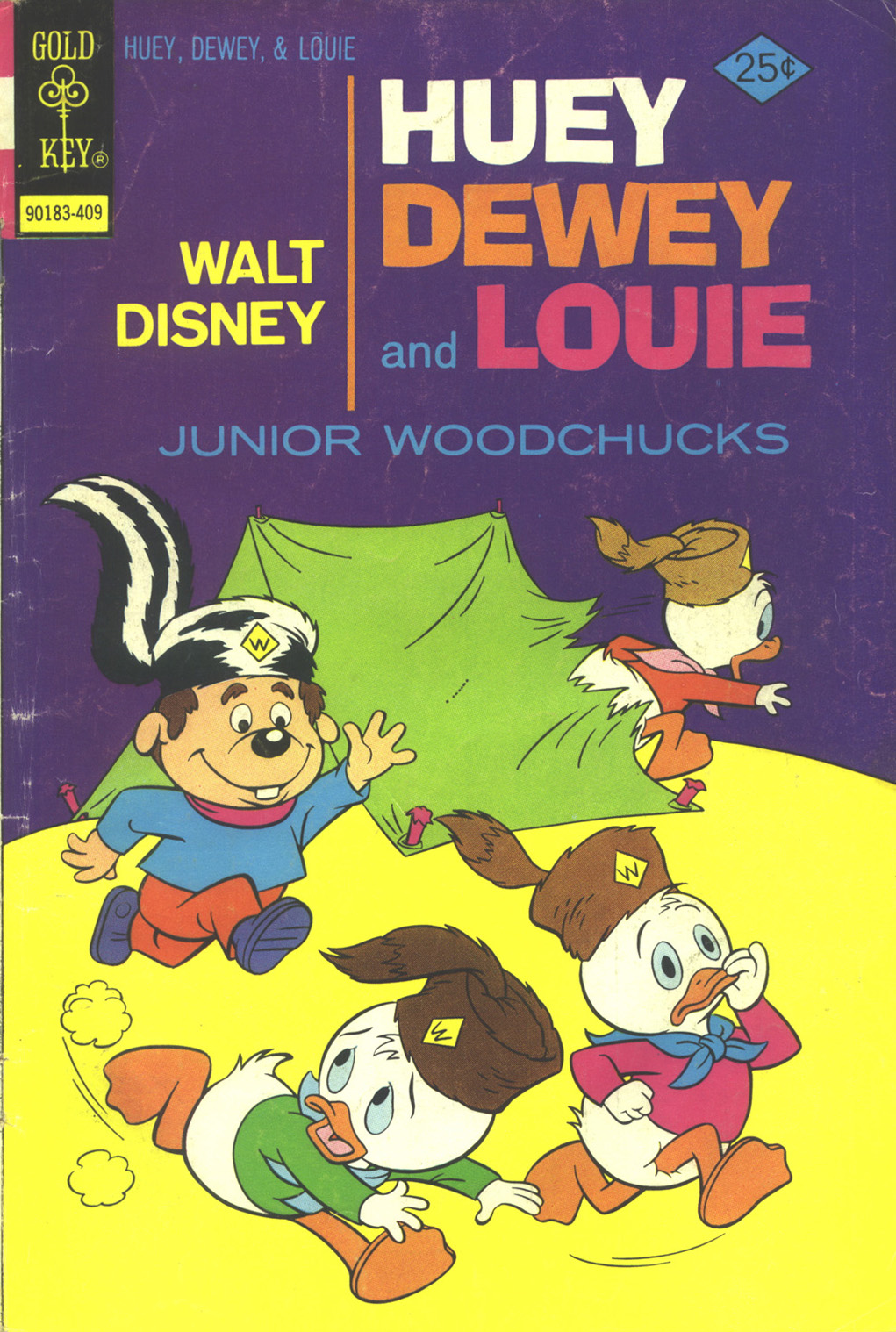 Huey, Dewey, and Louie Junior Woodchucks 28 Page 1