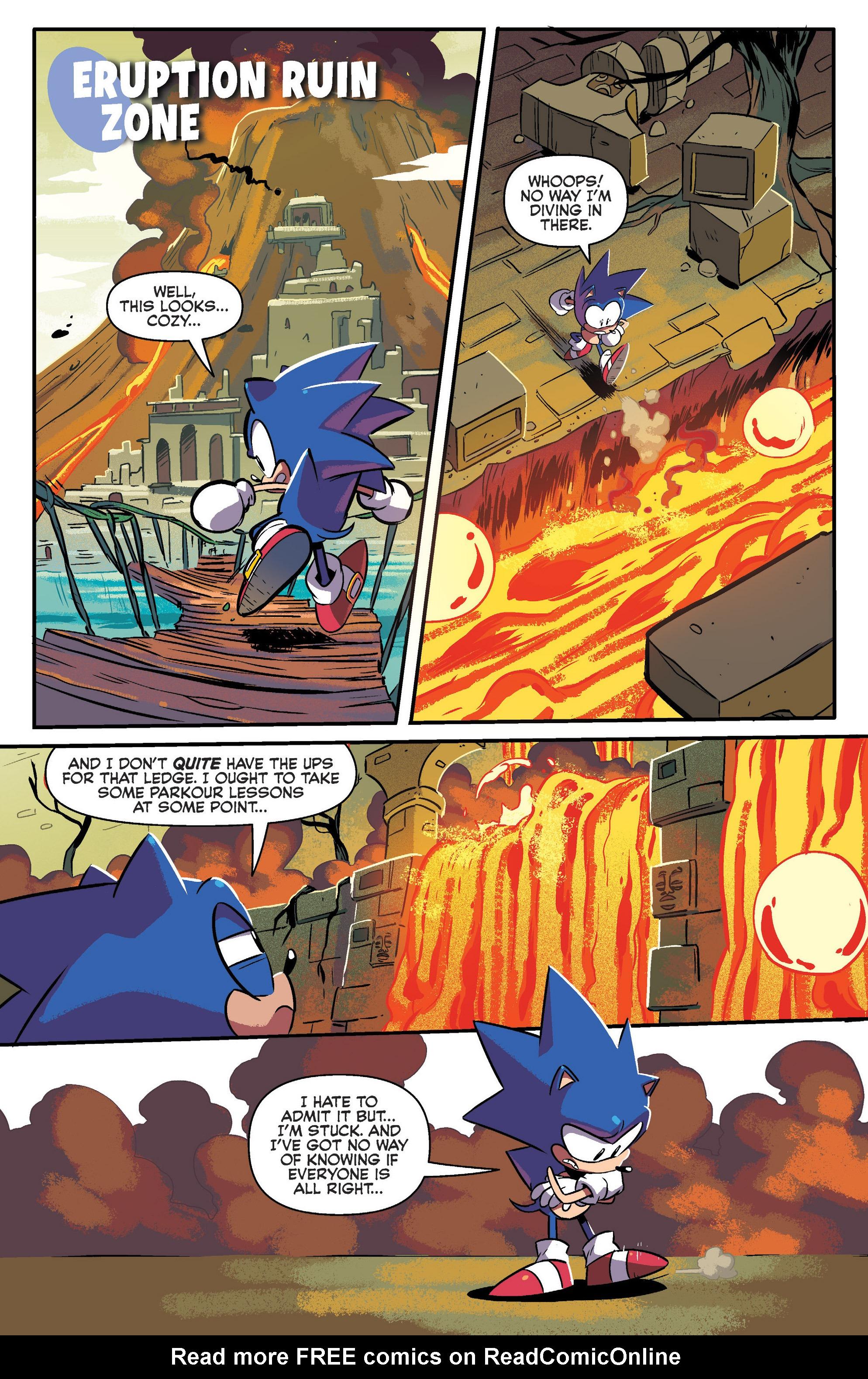 Read online Sonic Mega Drive: Next Level comic -  Issue # Full - 15