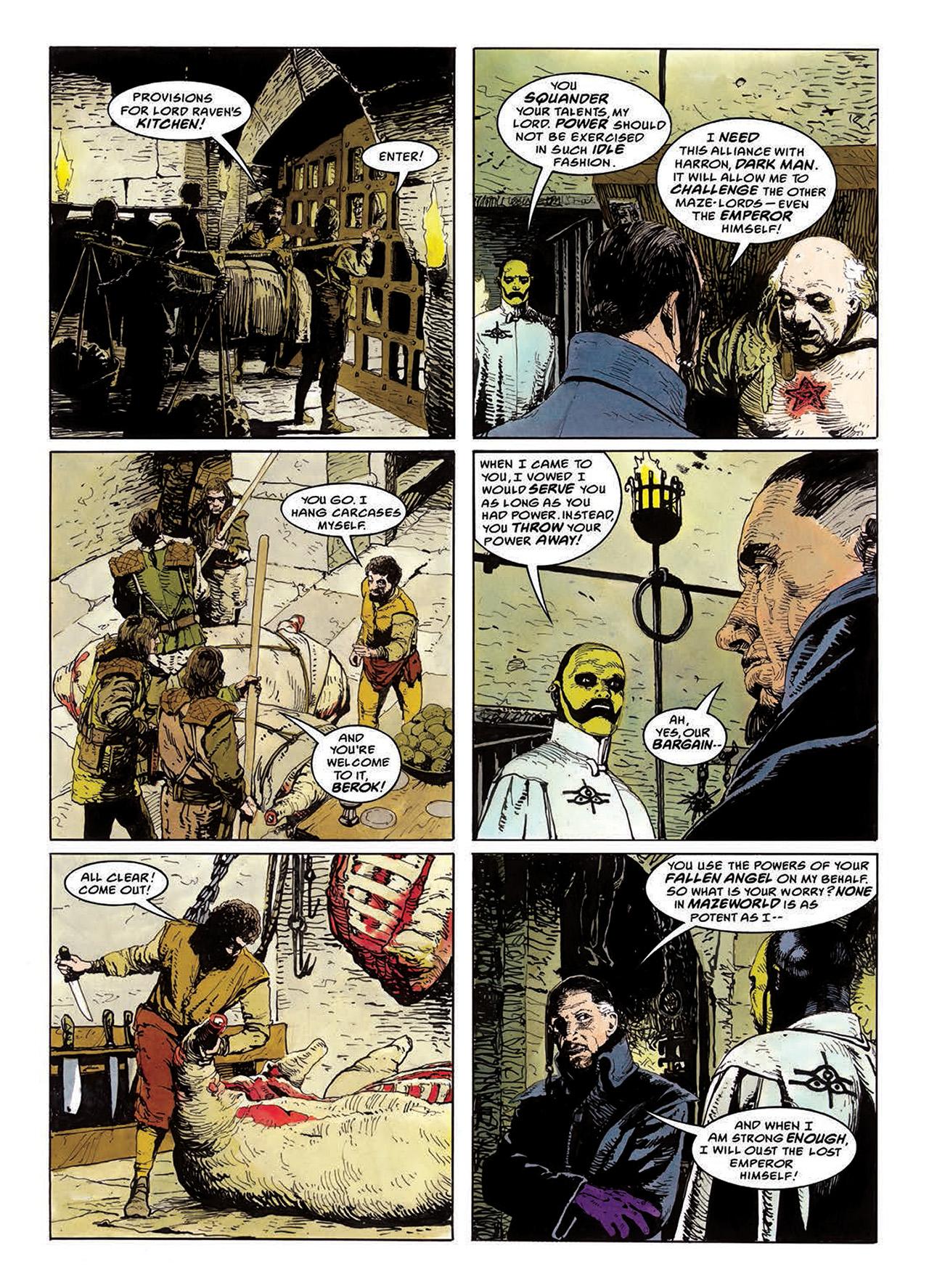 Read online Mazeworld comic -  Issue # TPB - 79